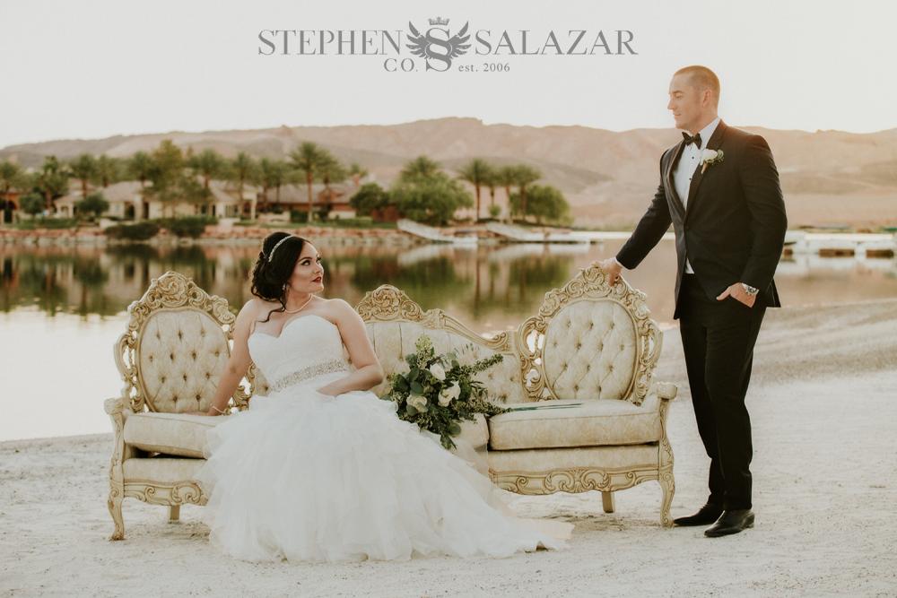 Wedding Updo Lake Las Vegas