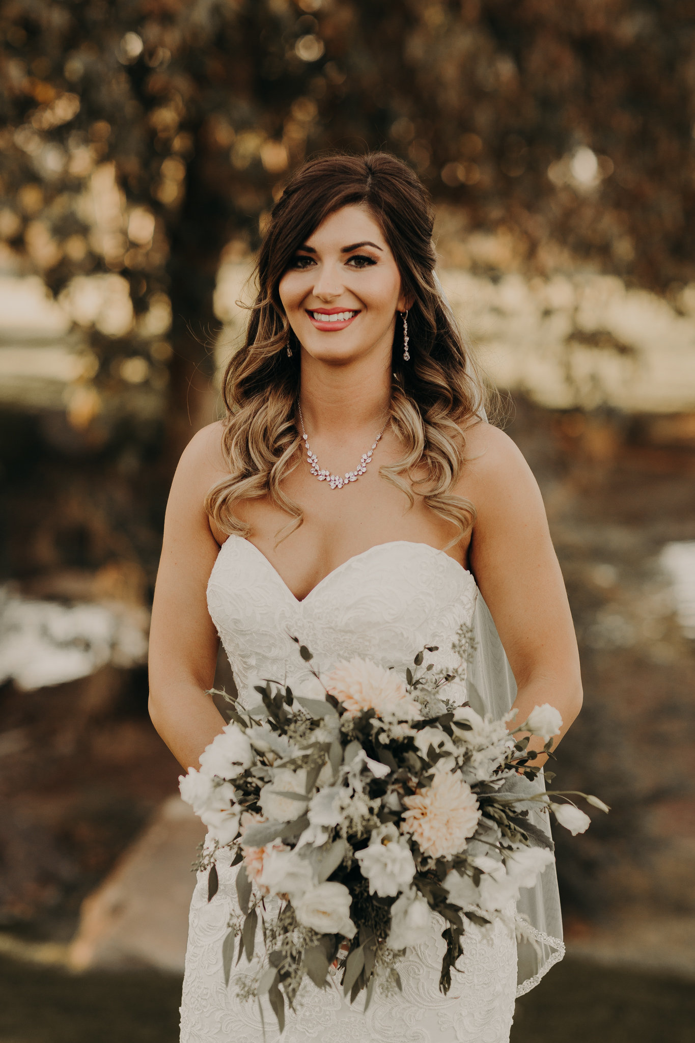 Fall wedding makeup in Las Vegas