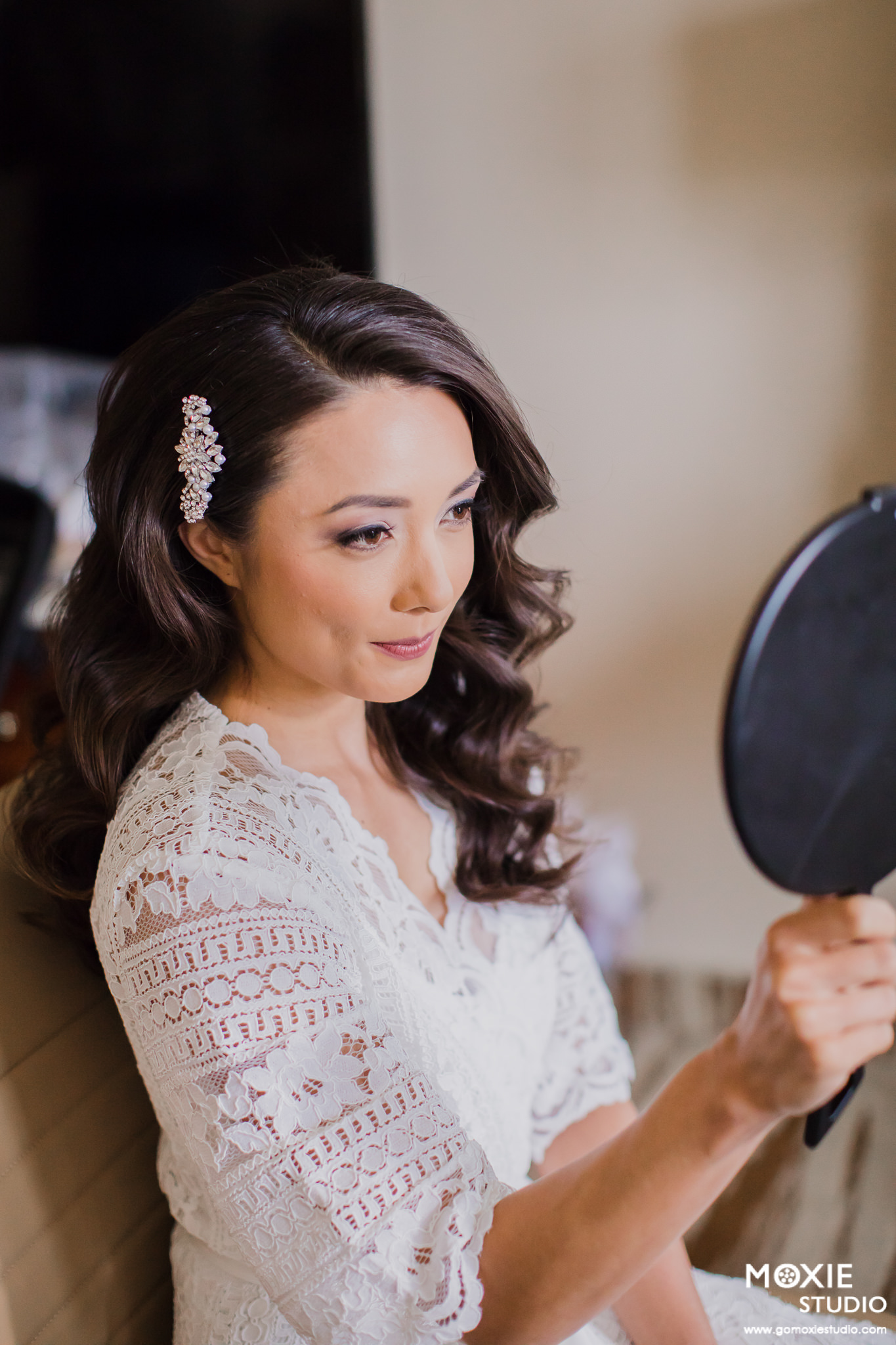Vintage Glam hair and makeup