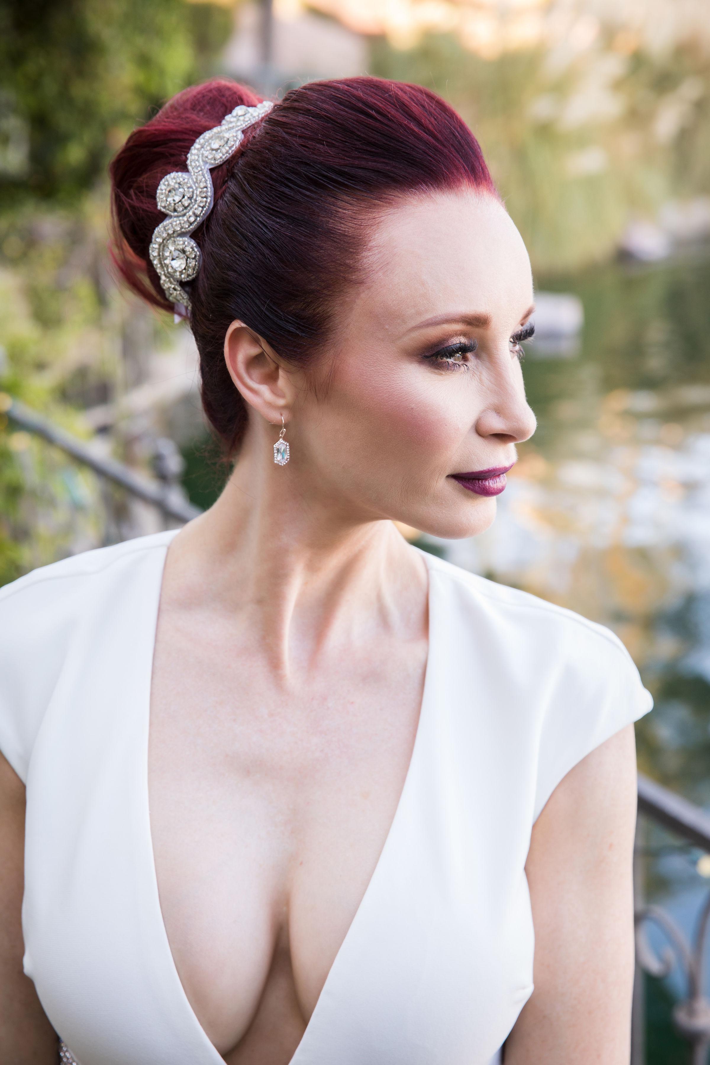 Glamorous Wedding Hair and Makeup Las Vegas