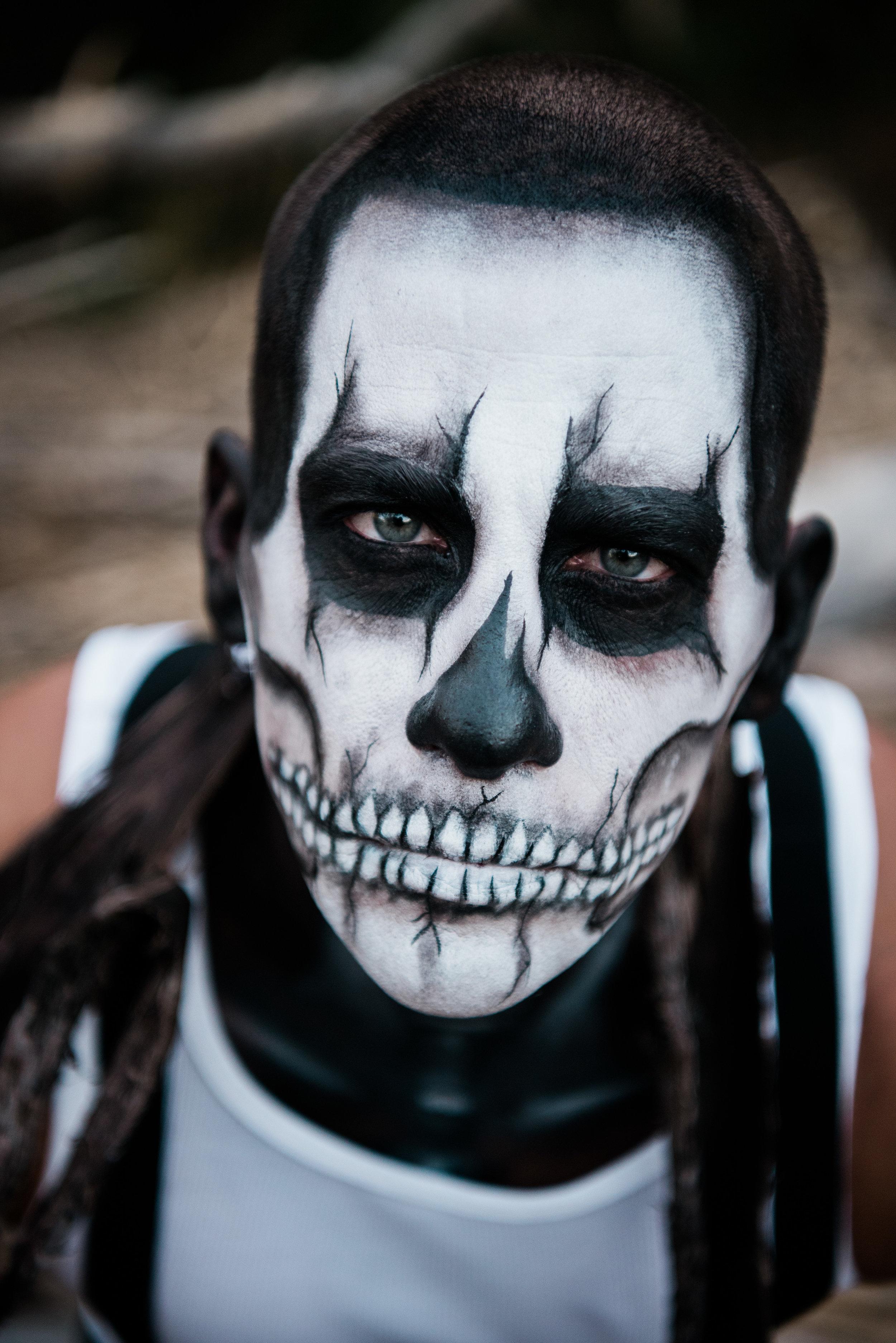Zombie Skull Makeup Las Vegas