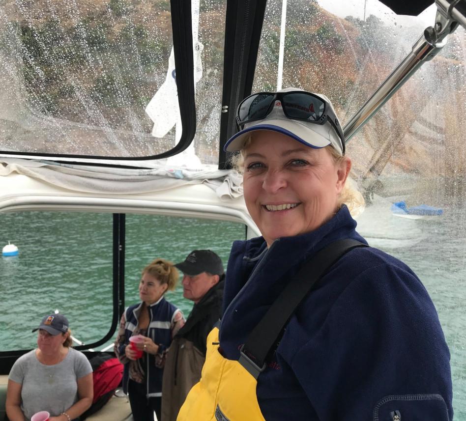 z sherie on boat.jpg