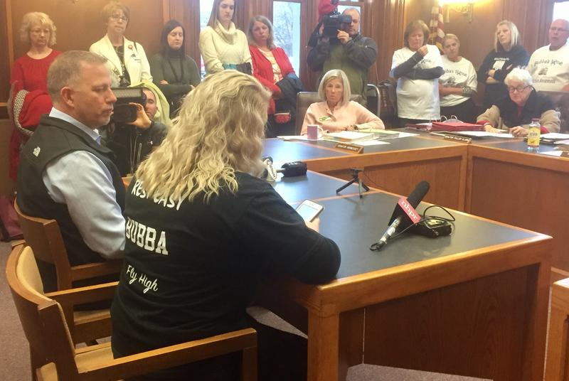 Tuesday's committee hearing was packed with loved ones who told lawmakers this new policy could save lives.  Paige Sutherland, NHPR