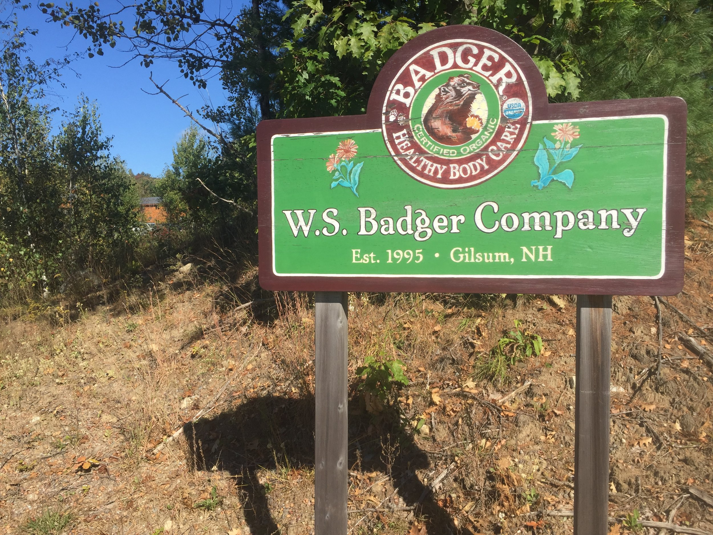 The beauty shop Badger Balm in Gilsum  By Paige Sutherland/NHPR