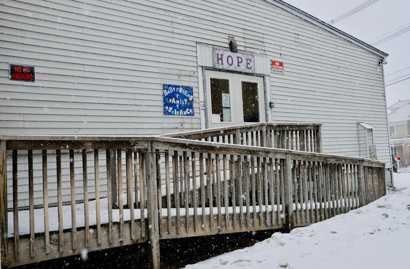 Hope for New Hampshire Recovery's Center in Claremont is one of four slated to close within the next couple of weeks. The center has about 200 active members for whom it provides peer support services, according to Manager Wayne Miller.