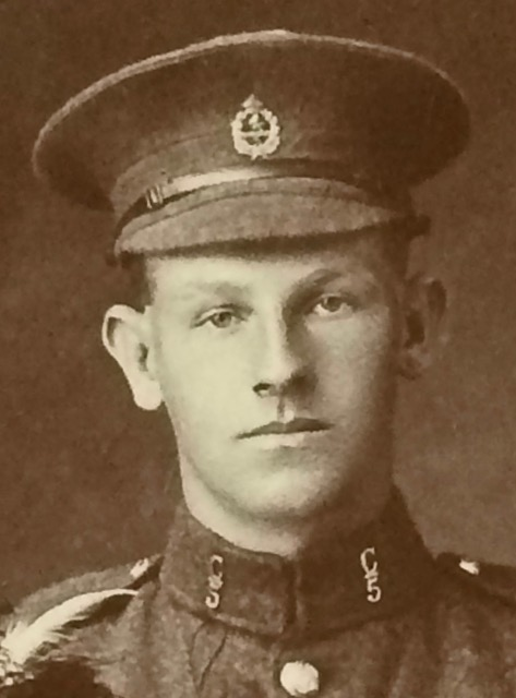 Percy Taylor, when he enlisted at 18