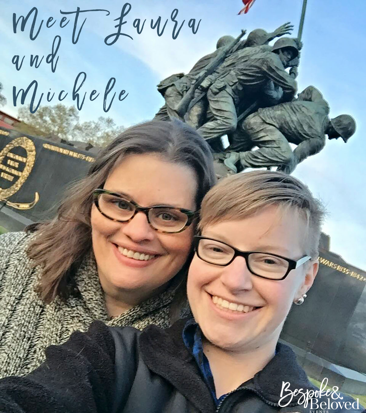 One stop on the 13-hour first date was at the Iwo Jima memorial.