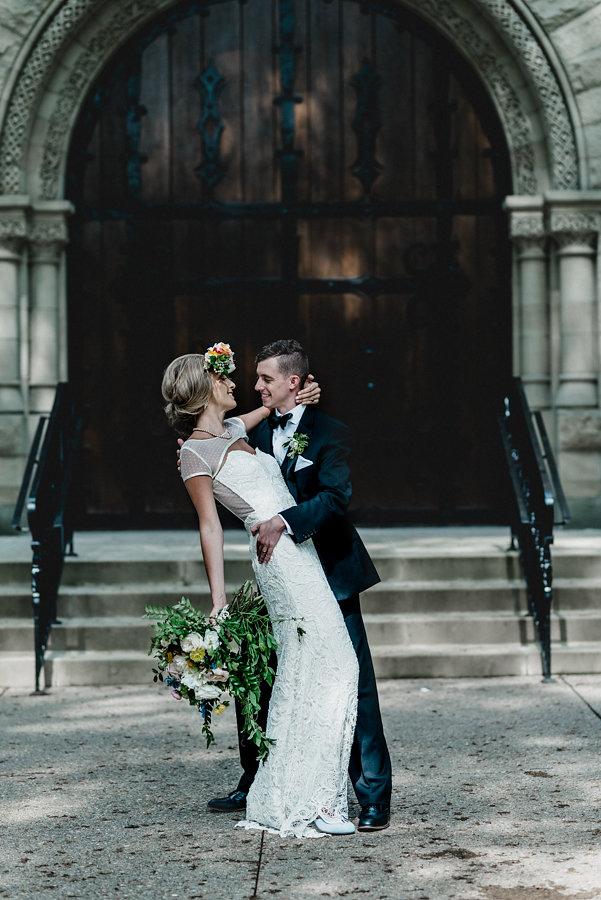 Pittsburgh Vintage Heirloom Wedding
