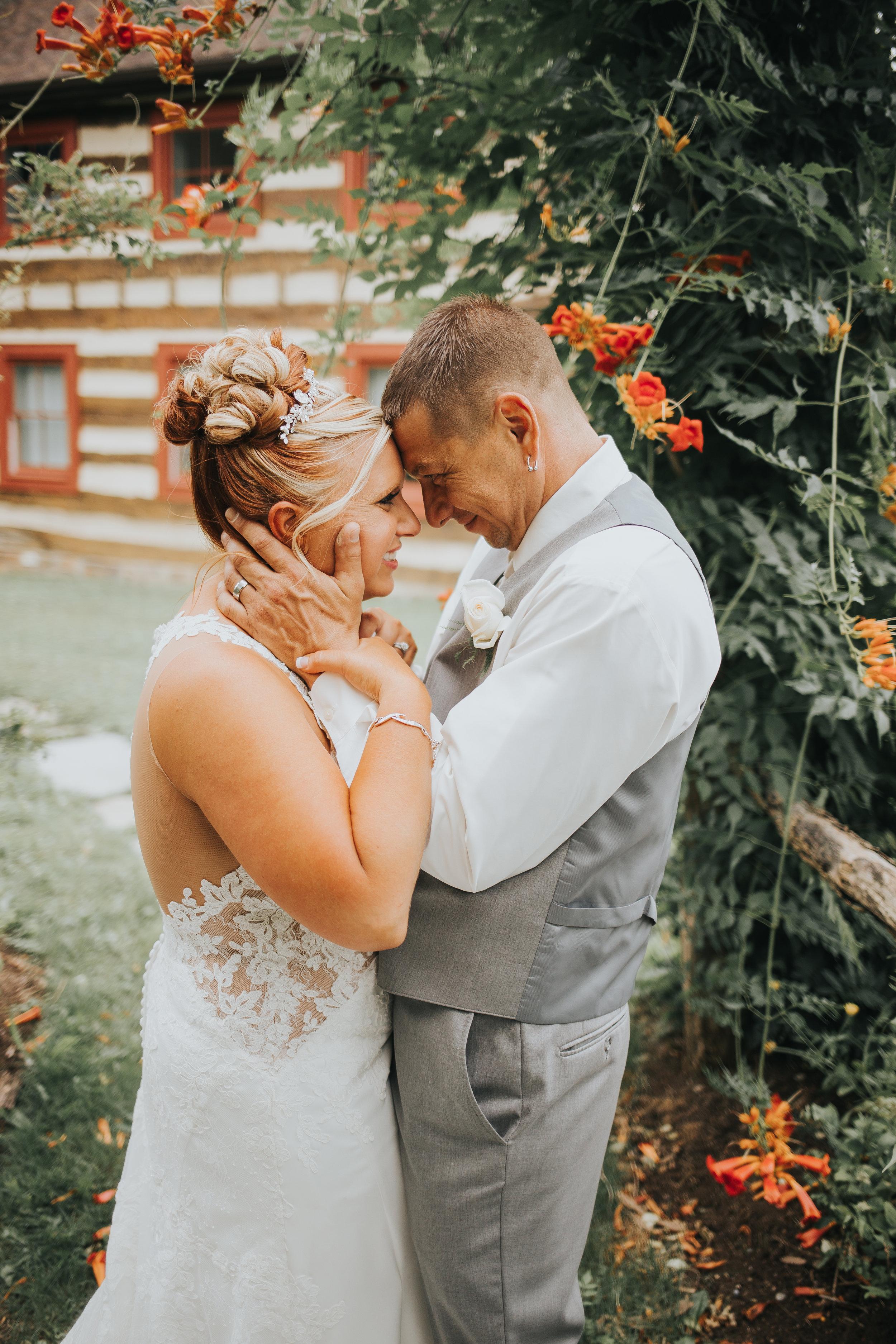 Rustic Glamour Ligonier Wedding Portrait