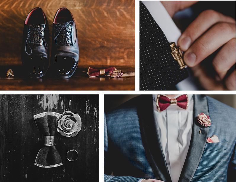 Pittsburgh Nutcracker Wedding Groom Details