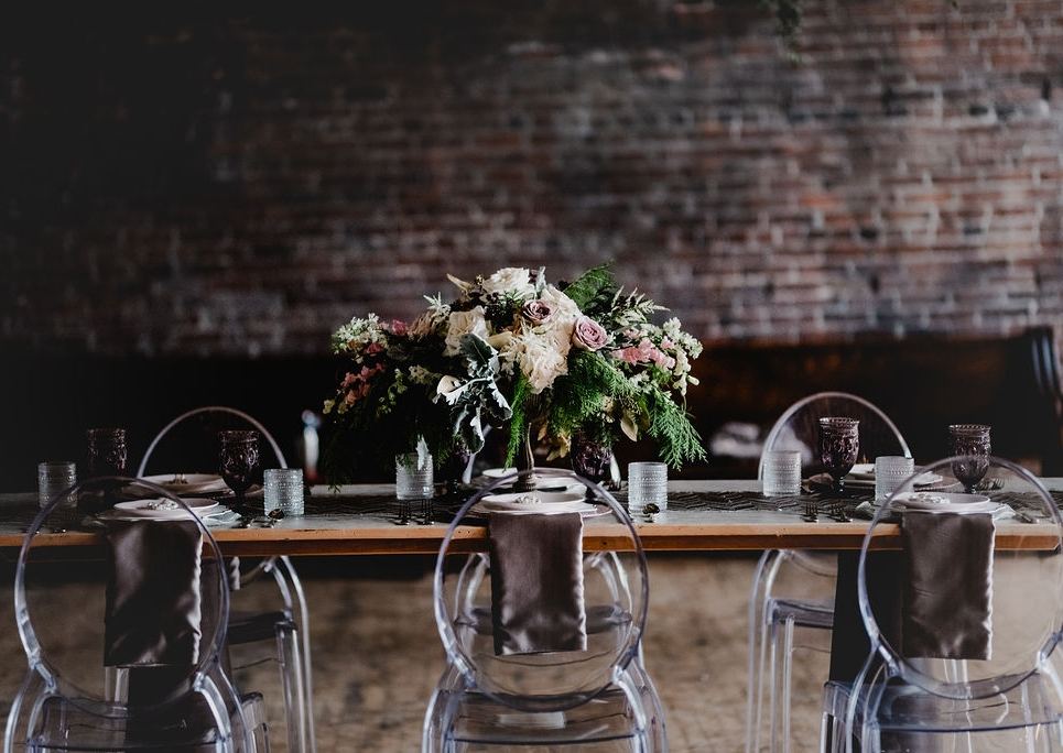 Pittsburgh Nutcracker Wedding Guest Table