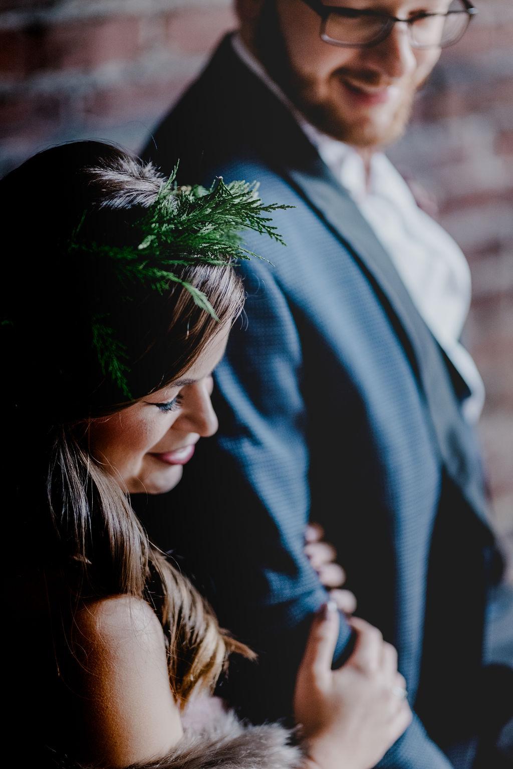 Pittsburgh Nutcracker Wedding Portrait
