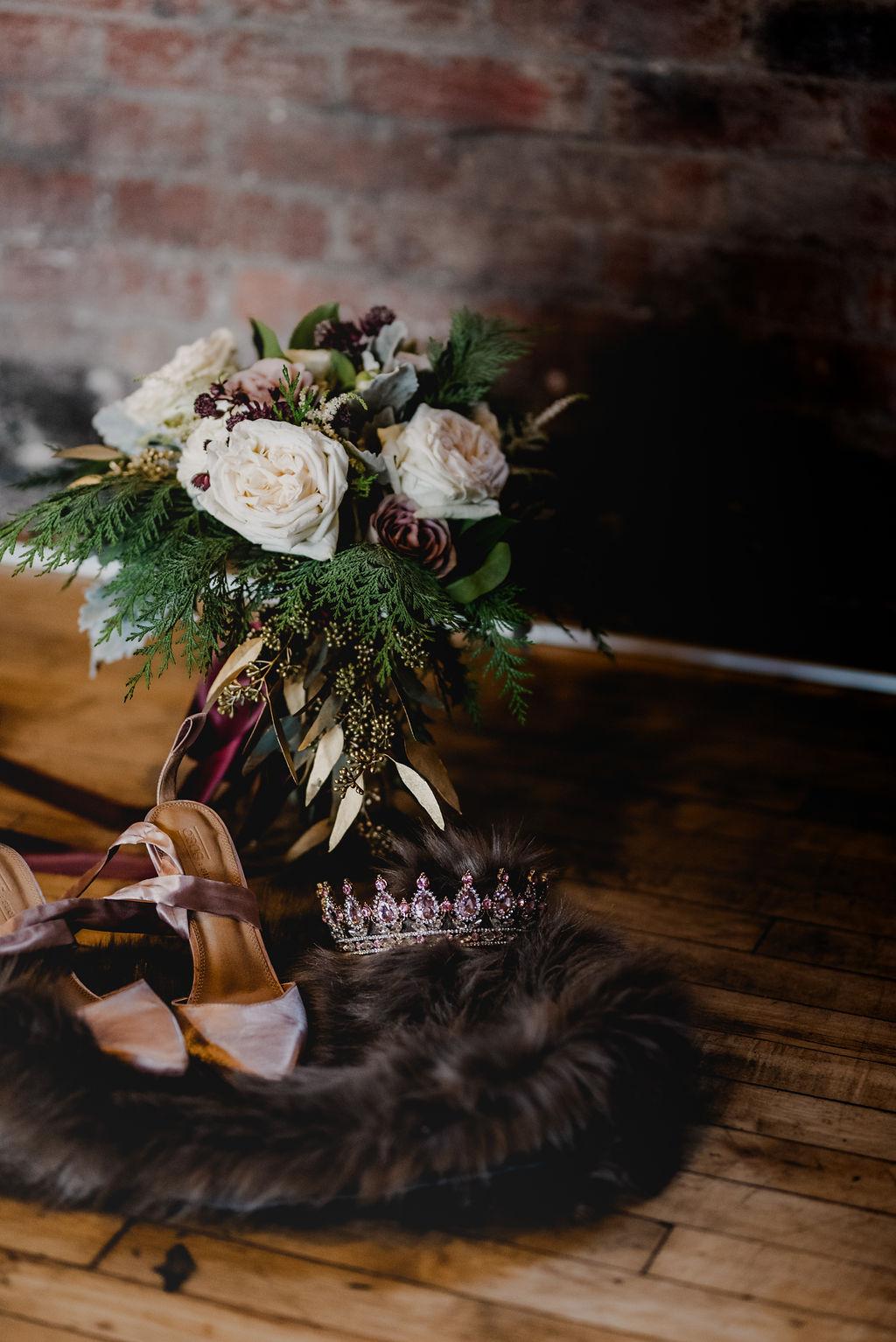 Pittsburgh Nutcracker Wedding Bouquet