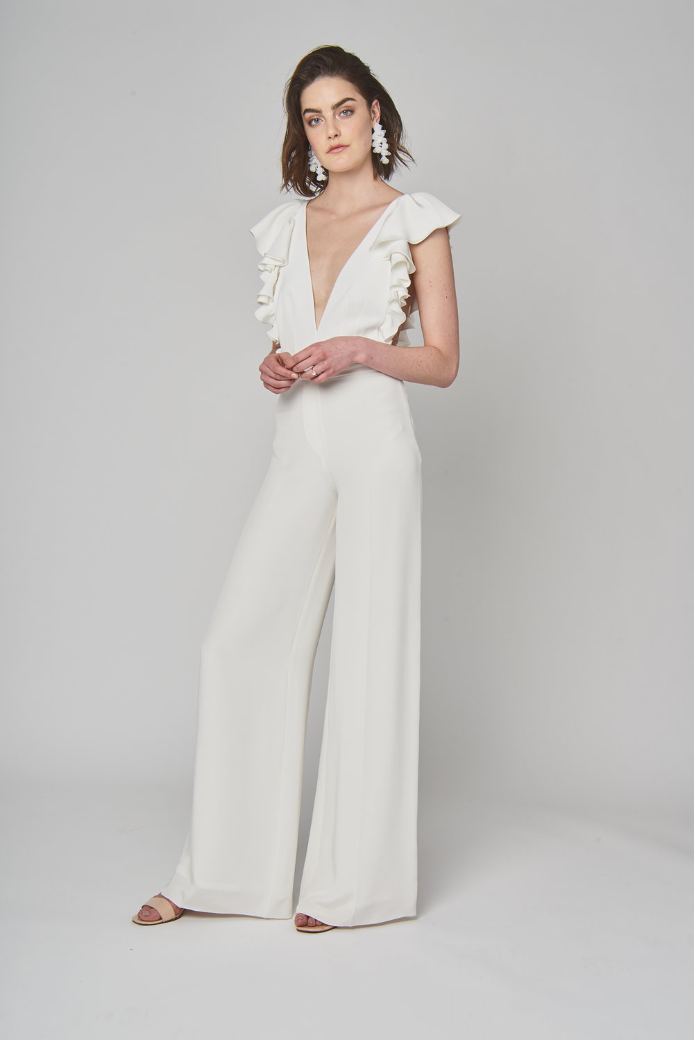 Alexandra Grecco  - Lucy bodysuit and Harlow pants, with the option to buy as separates or as a jumpsuit.