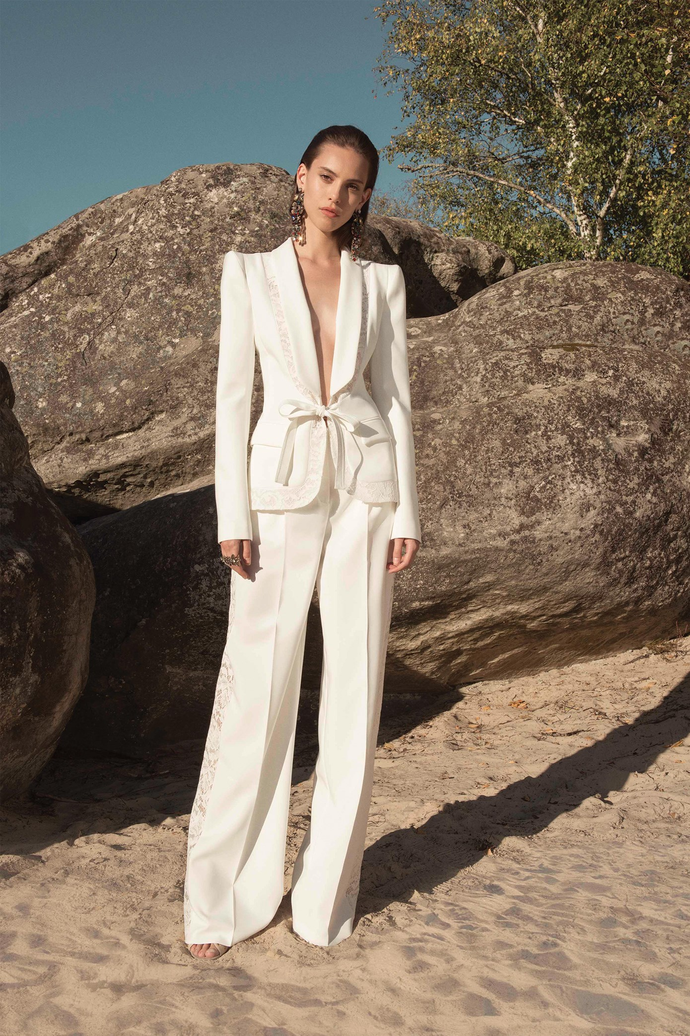 Zuhair Murad  Wedding Suit  - Spring/Summer Collection 2019.