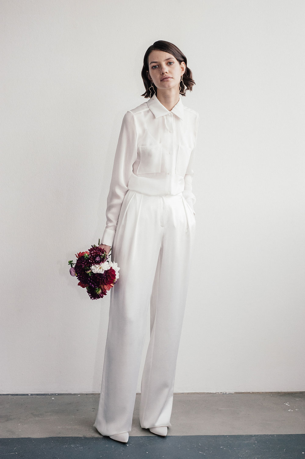 Lilly Ingenhoven Bridal  Civil Ceremony collection -  Henriette  trousers