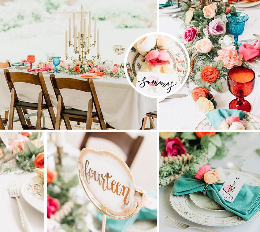 bright_summer_colors_wedding_guest_table_pippas_pieces_bespoke_and_beloved_events_pittsburgh_botanic_gardens