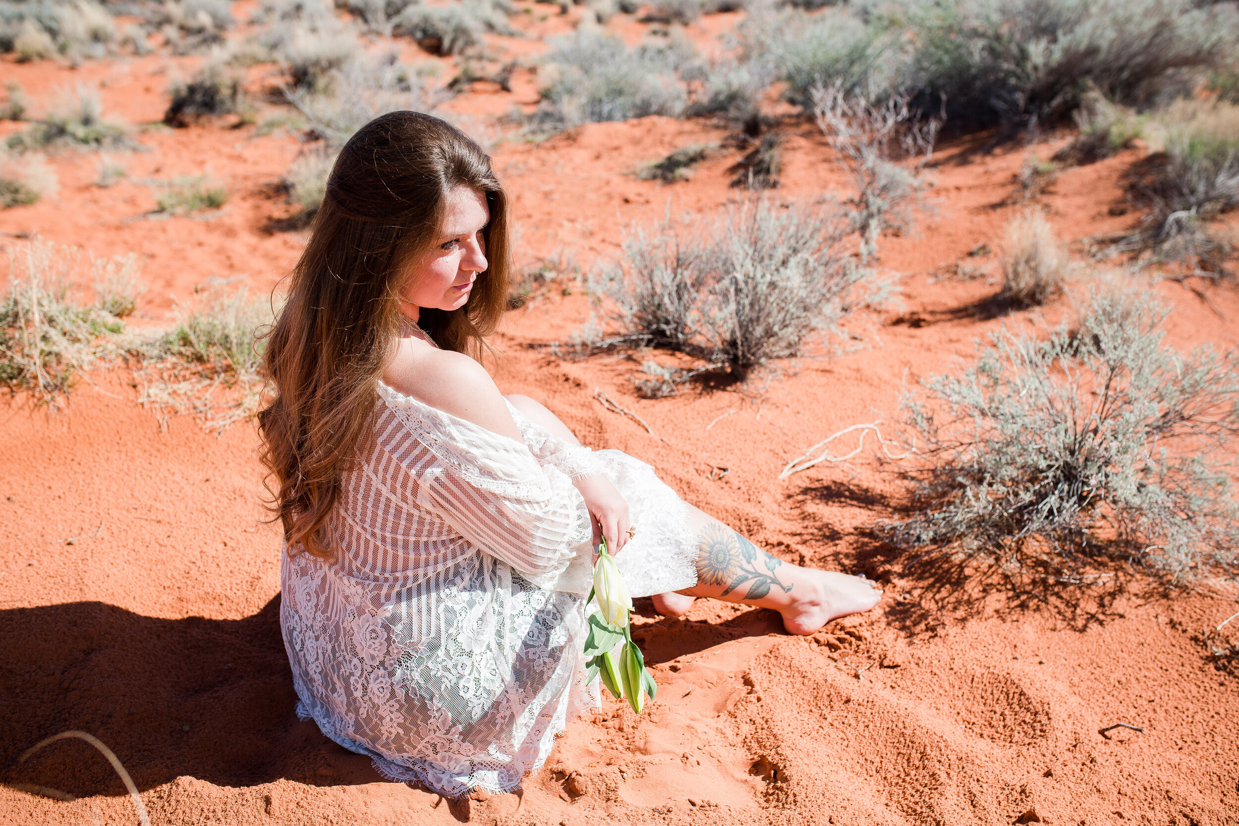 Model: Hannah Rae/ Sun Rae Photography ; Photographer:  Kaitlin Mace Photography  at  KMP Retreats  Desert Boudoir Workshop