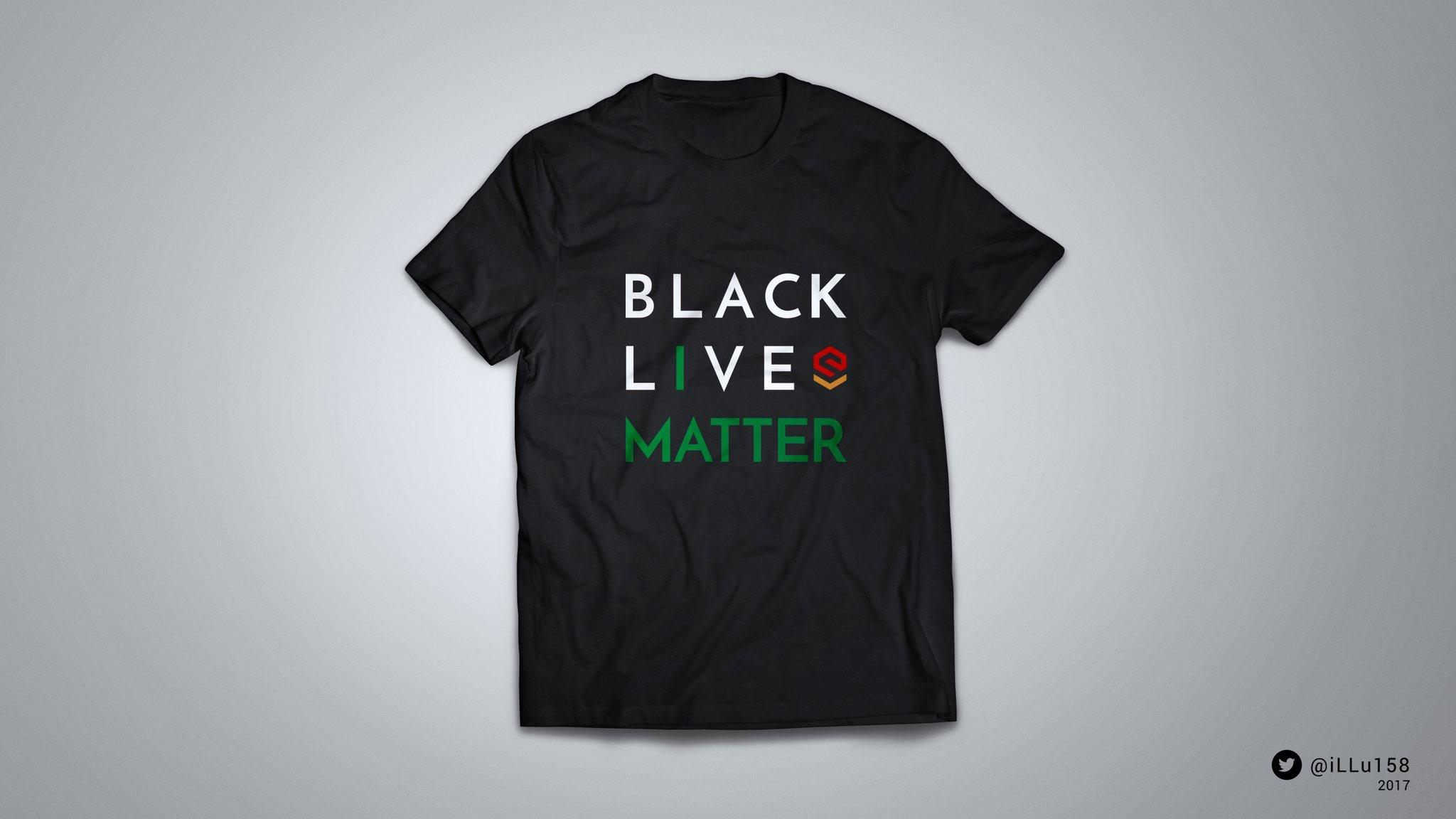 Black Lives Matter - Black/Logo