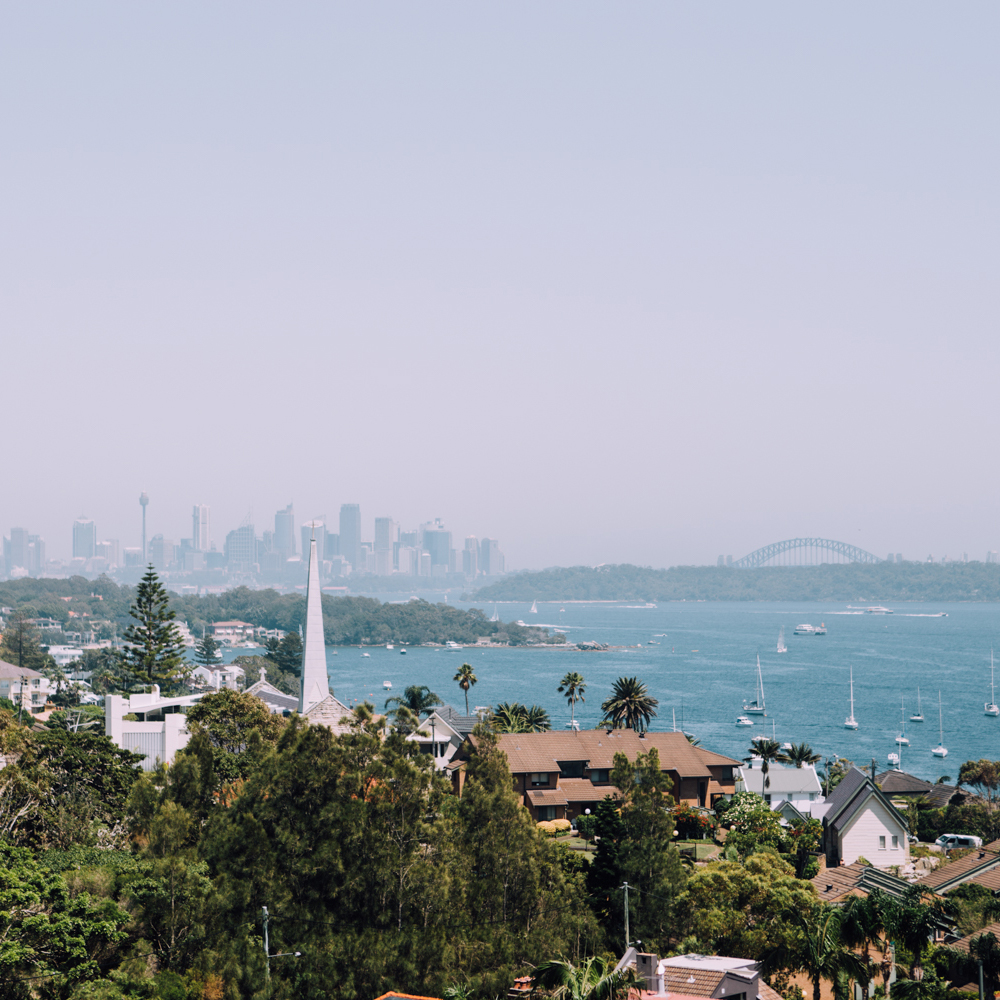 view of the city from  watson's bay