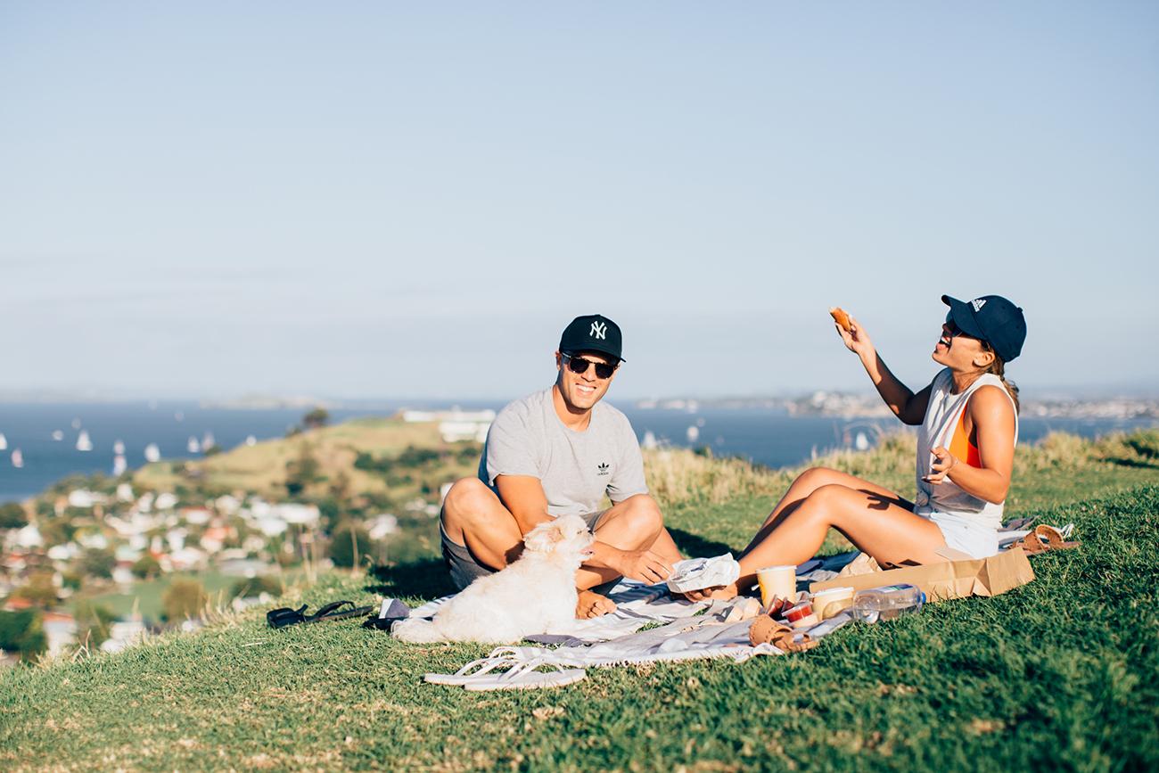 dinner picnic with Bill & Mel
