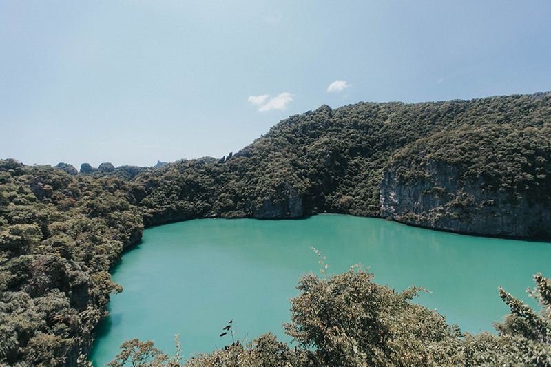 emerald lagoon - part of the ang thong marine park tour