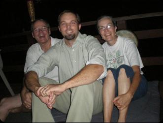 Adam, Richard, and Linda