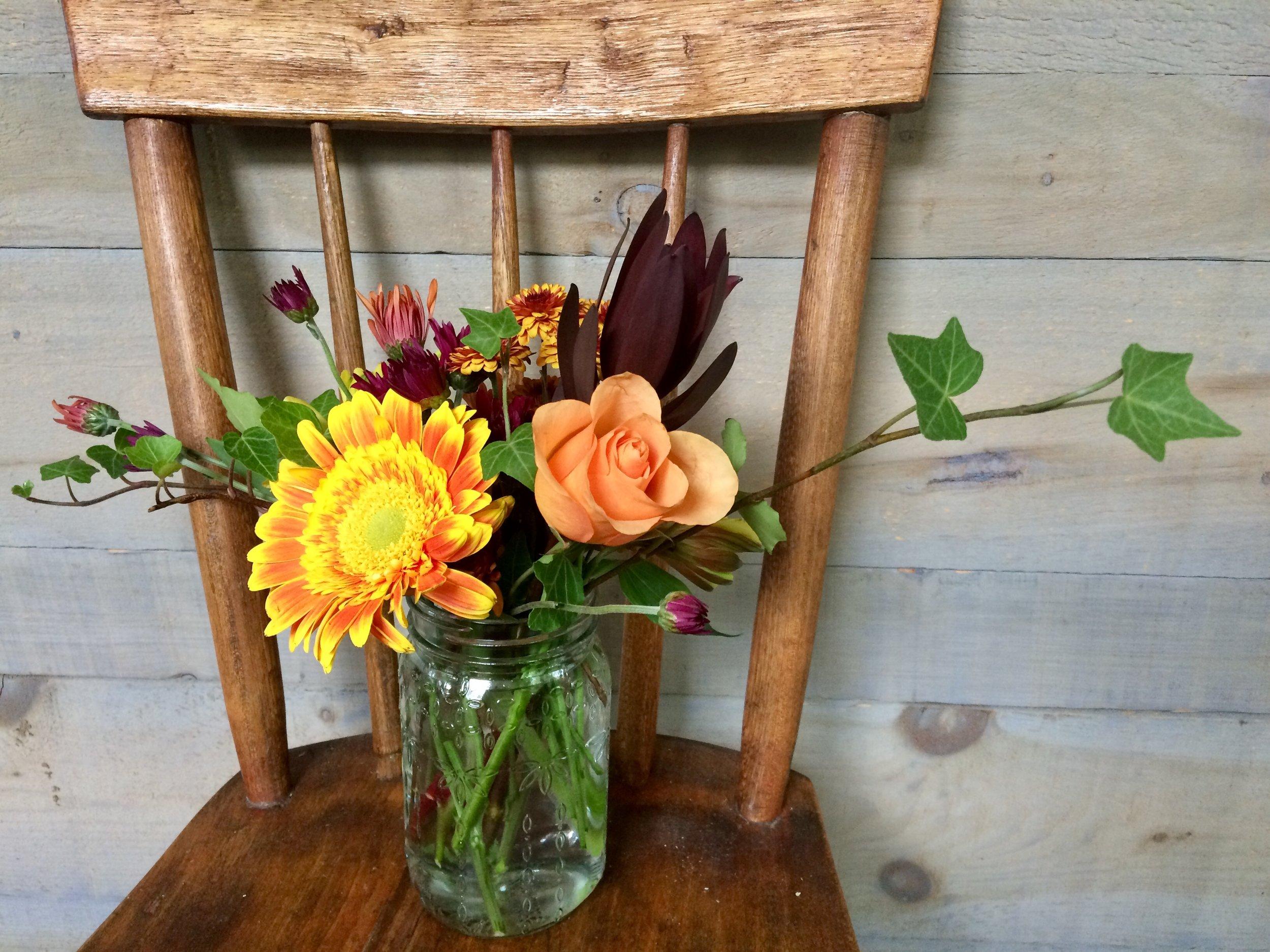 autumn bouquet BB&Co.