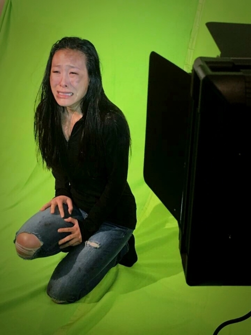 Pick-up green screen work for The Great Controversy Ended