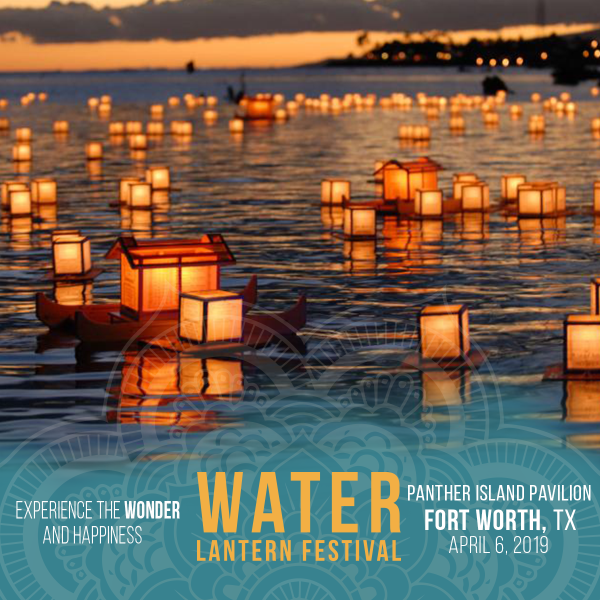 Water Lantern Festival | Fort Worth 2019 - April 6, 2019 | VAVV participated as a Vendor with a Booth at the Water Lantern Festival in Fort Worth