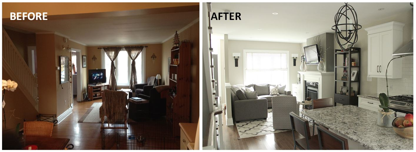 KMSD Downtown Century home before after