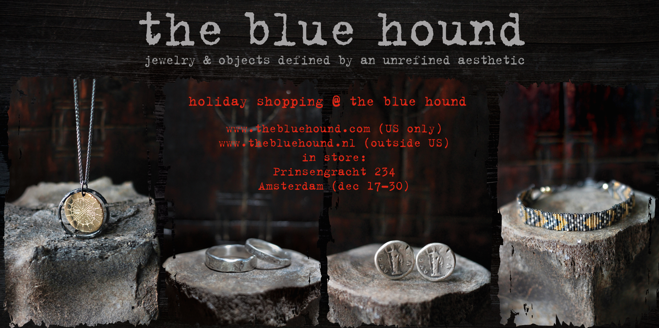 The Blue Hound Holiday shopping