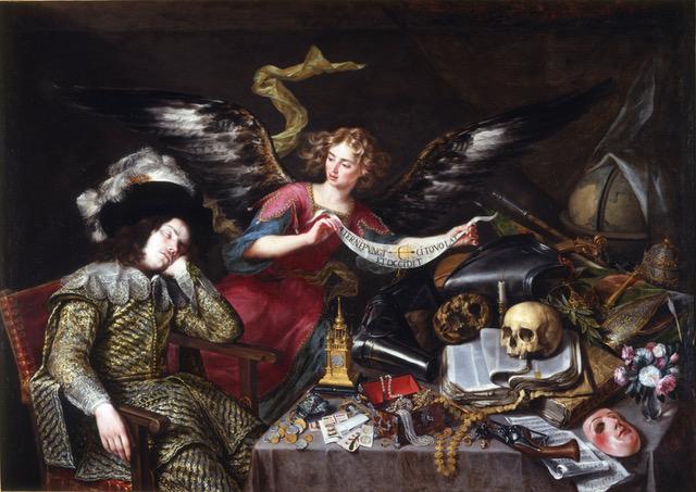 The Knight's Dream, 1655, by Antonio de Pereda