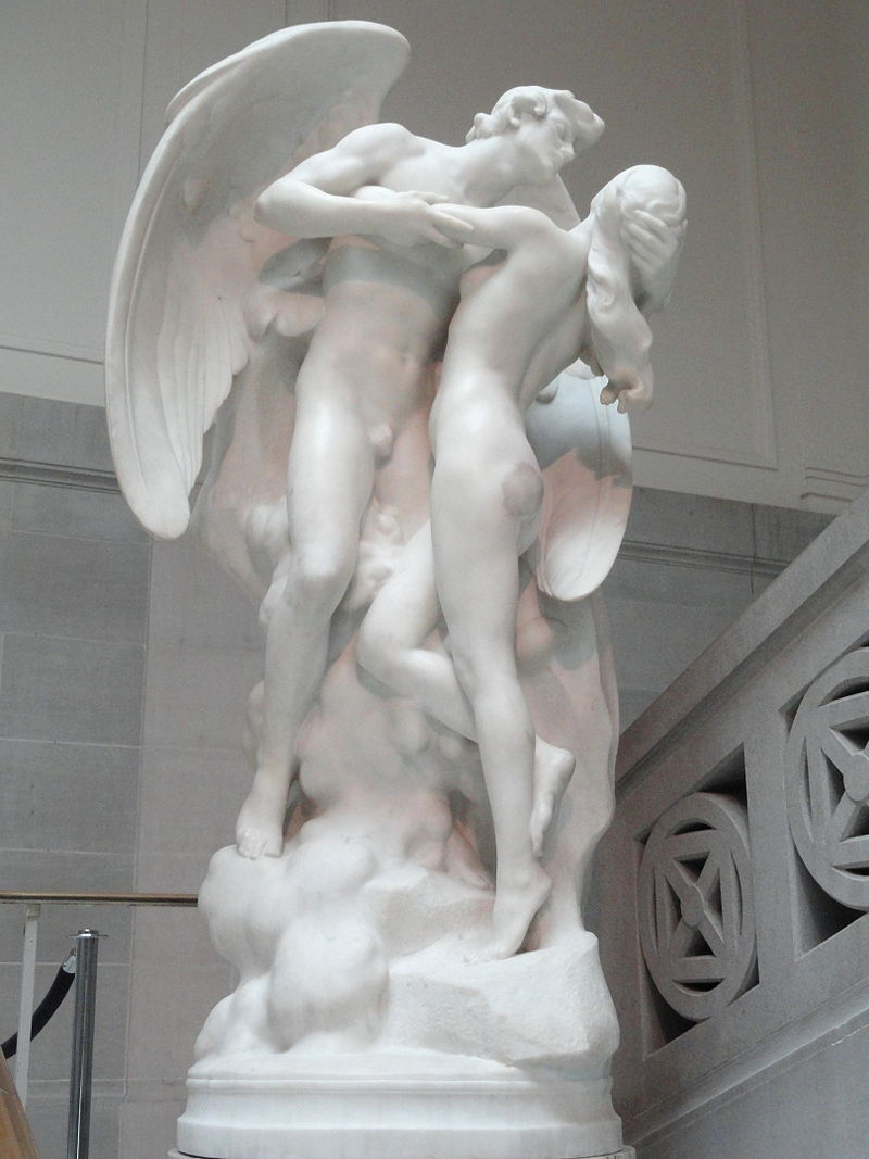 The Sons of God Saw the Daughters of Men That They Were Fair , sculpture by Daniel Chester French.