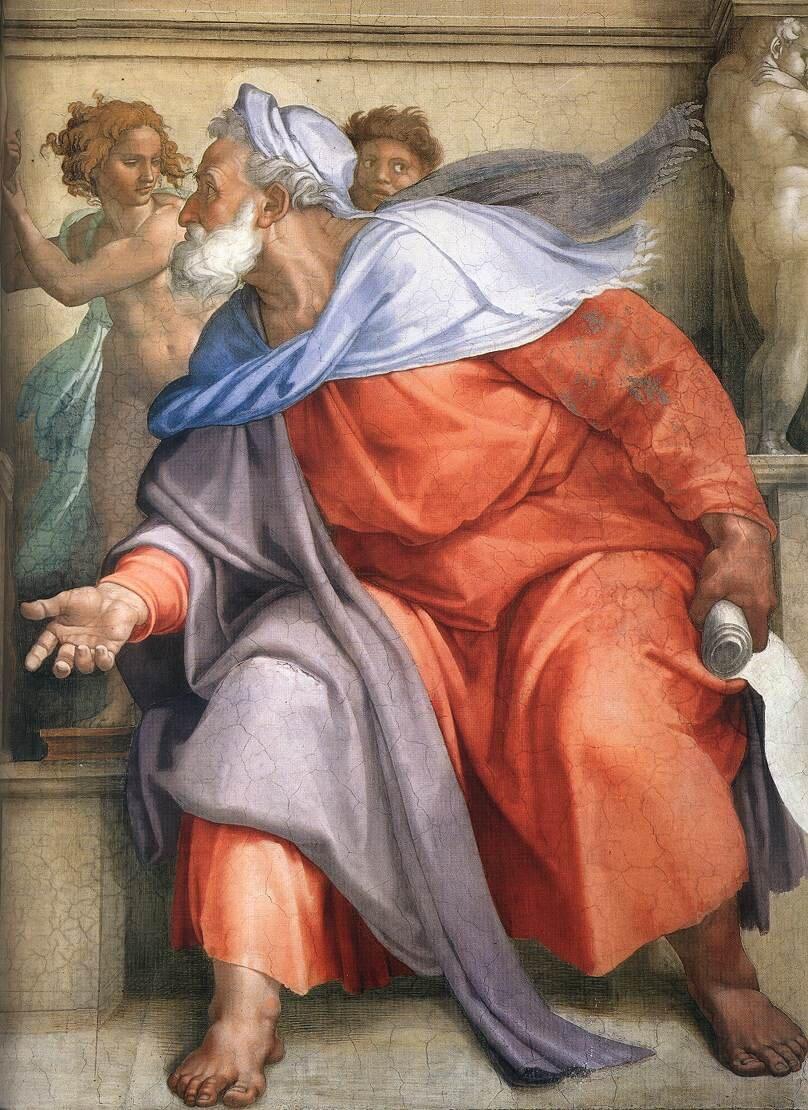 Ezekial: Sistine Chapel