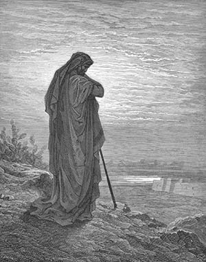 Prophet Amos as depicted by Gustave Dore