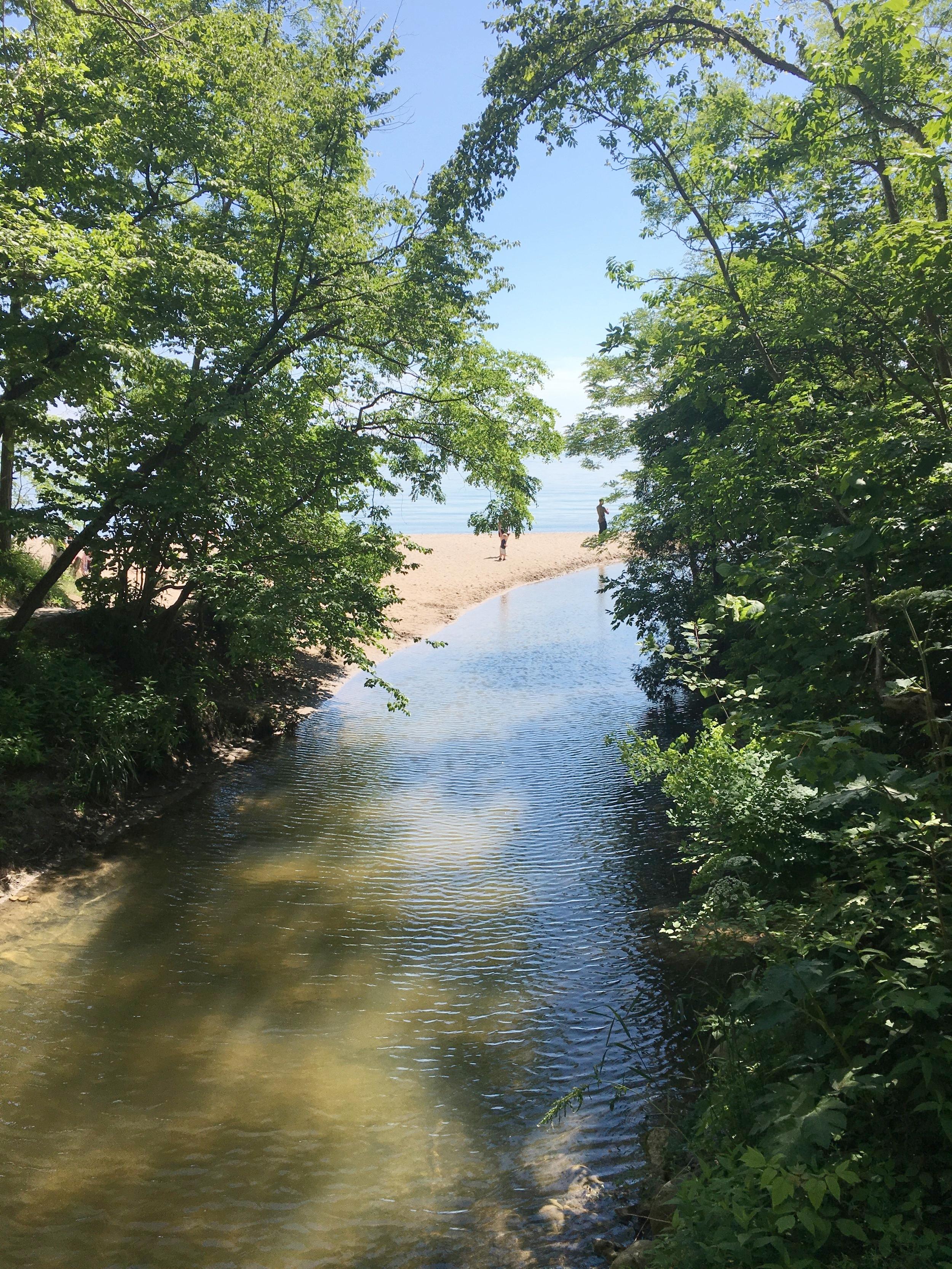 Hiking at Seven Bridges