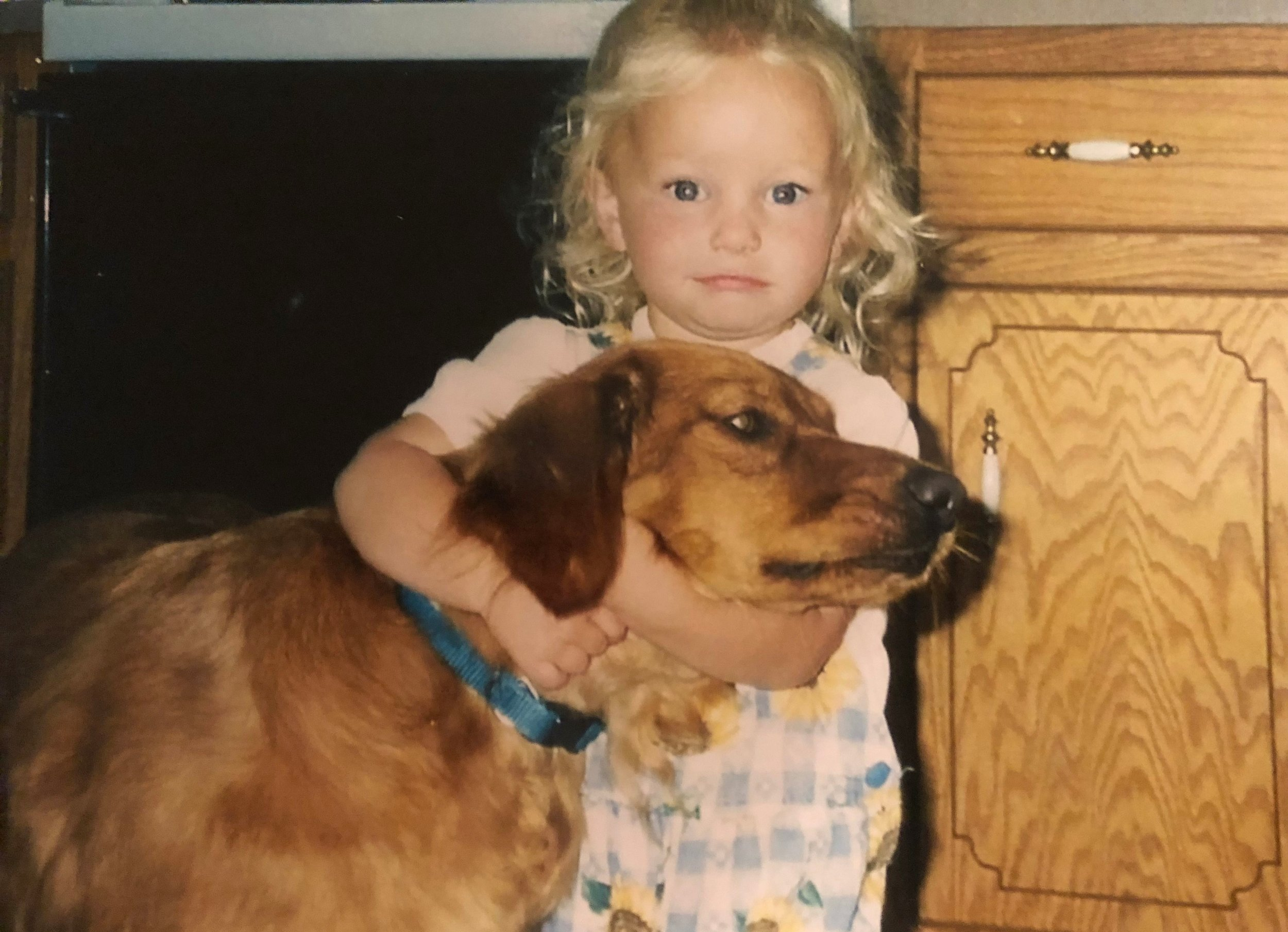 Me being an aggressive dog lover since day one