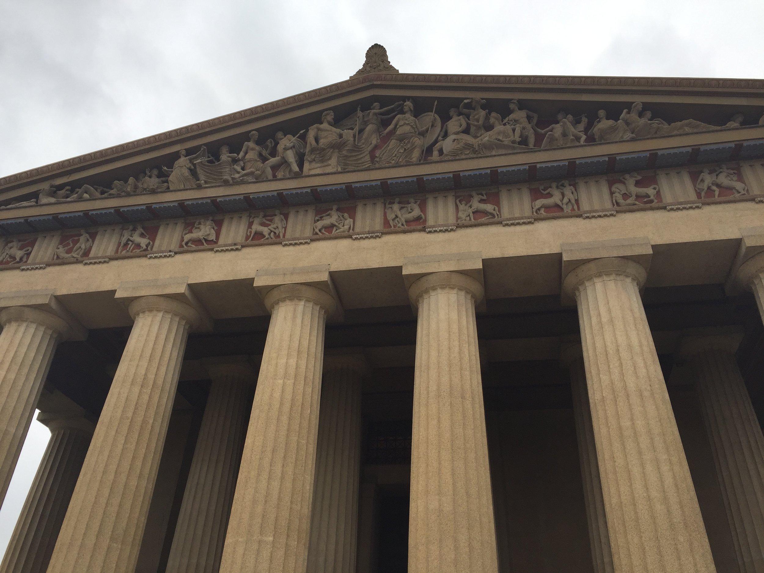 The Parthenon, Nashville-style.