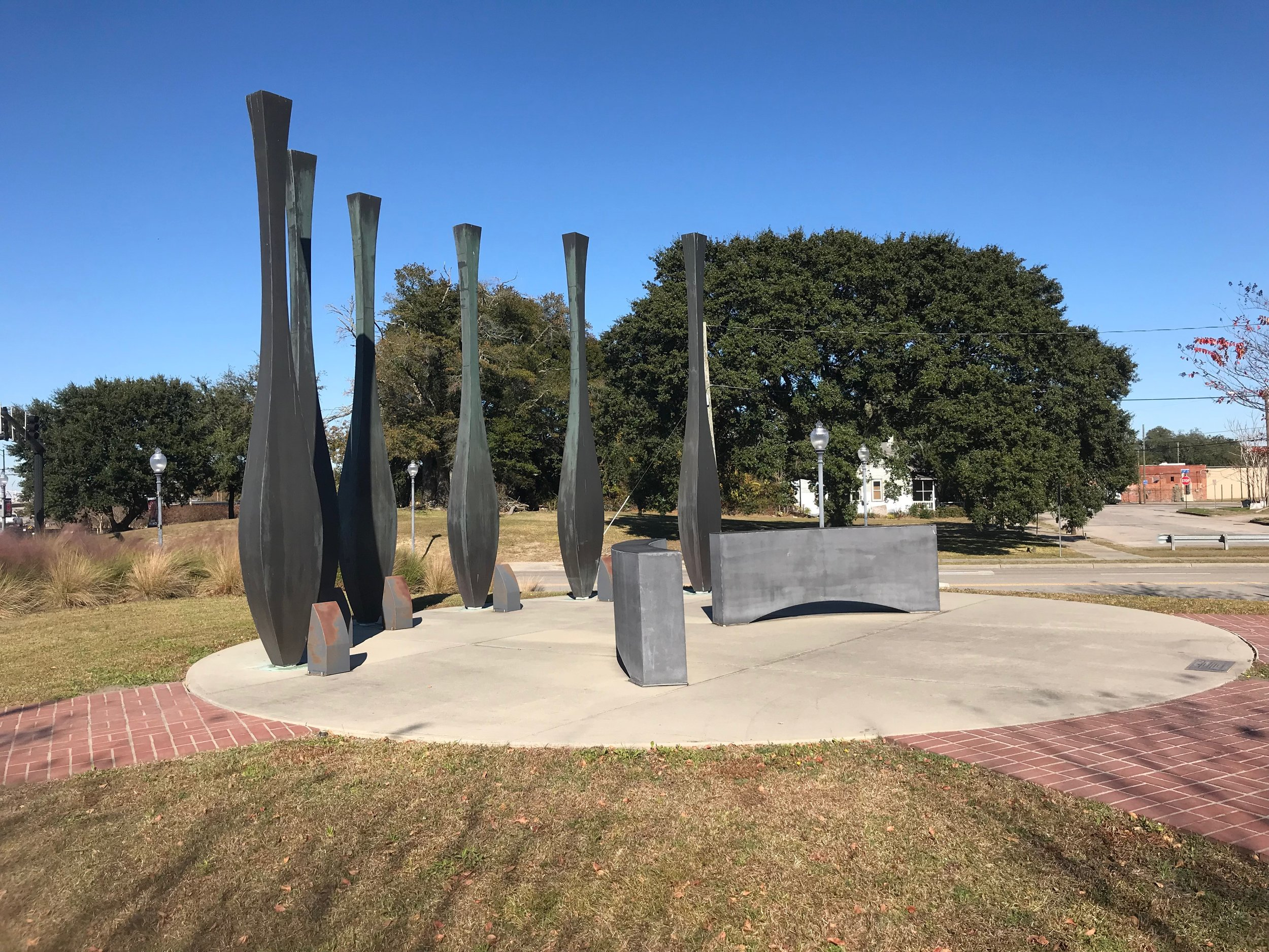 The memorial to the victims of the 1898 Wilmington massacre, dedicated in 2013.