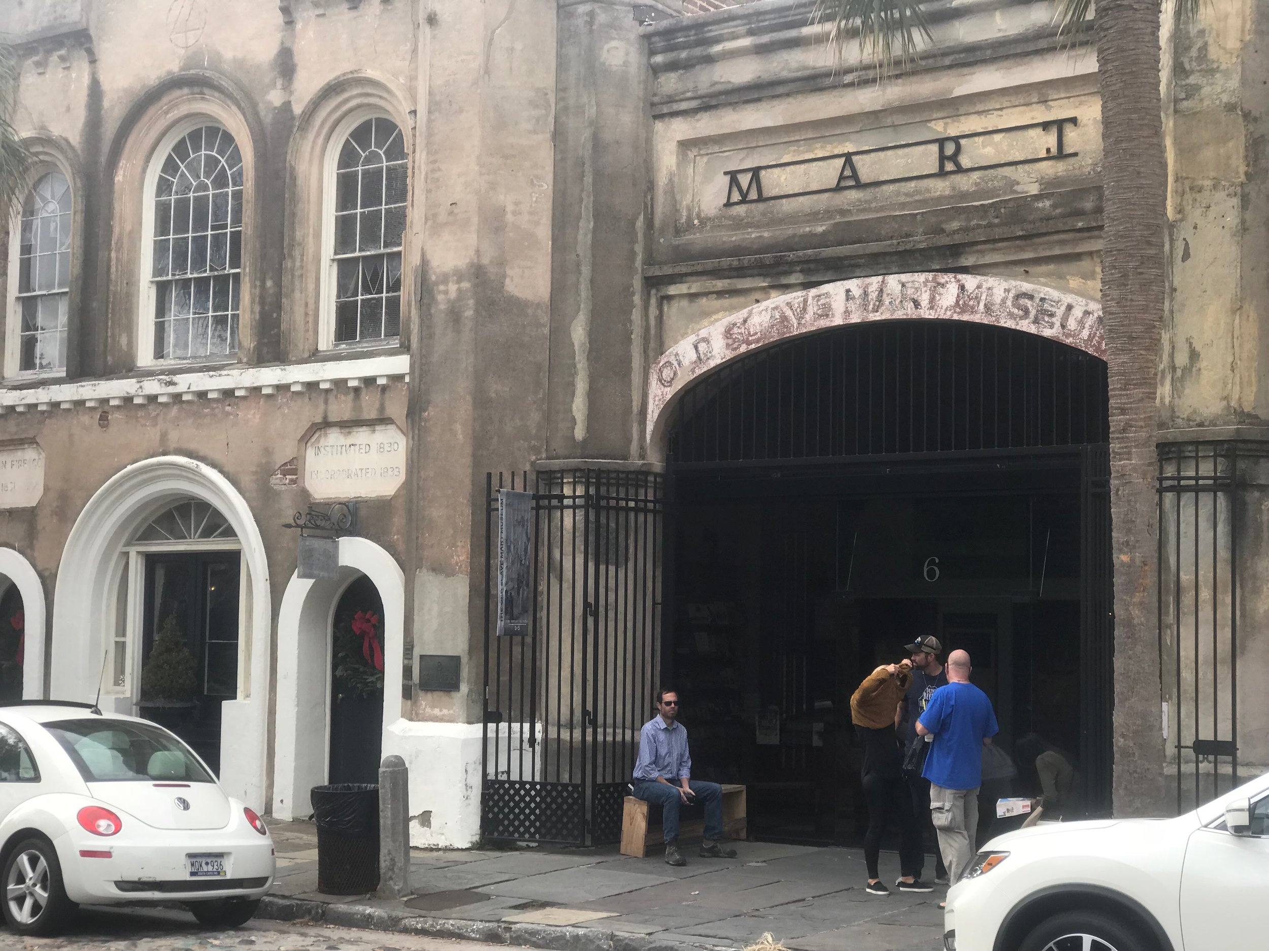 Charleston, SC: The city's largest slave market is now a museum run by Charleston's city government.