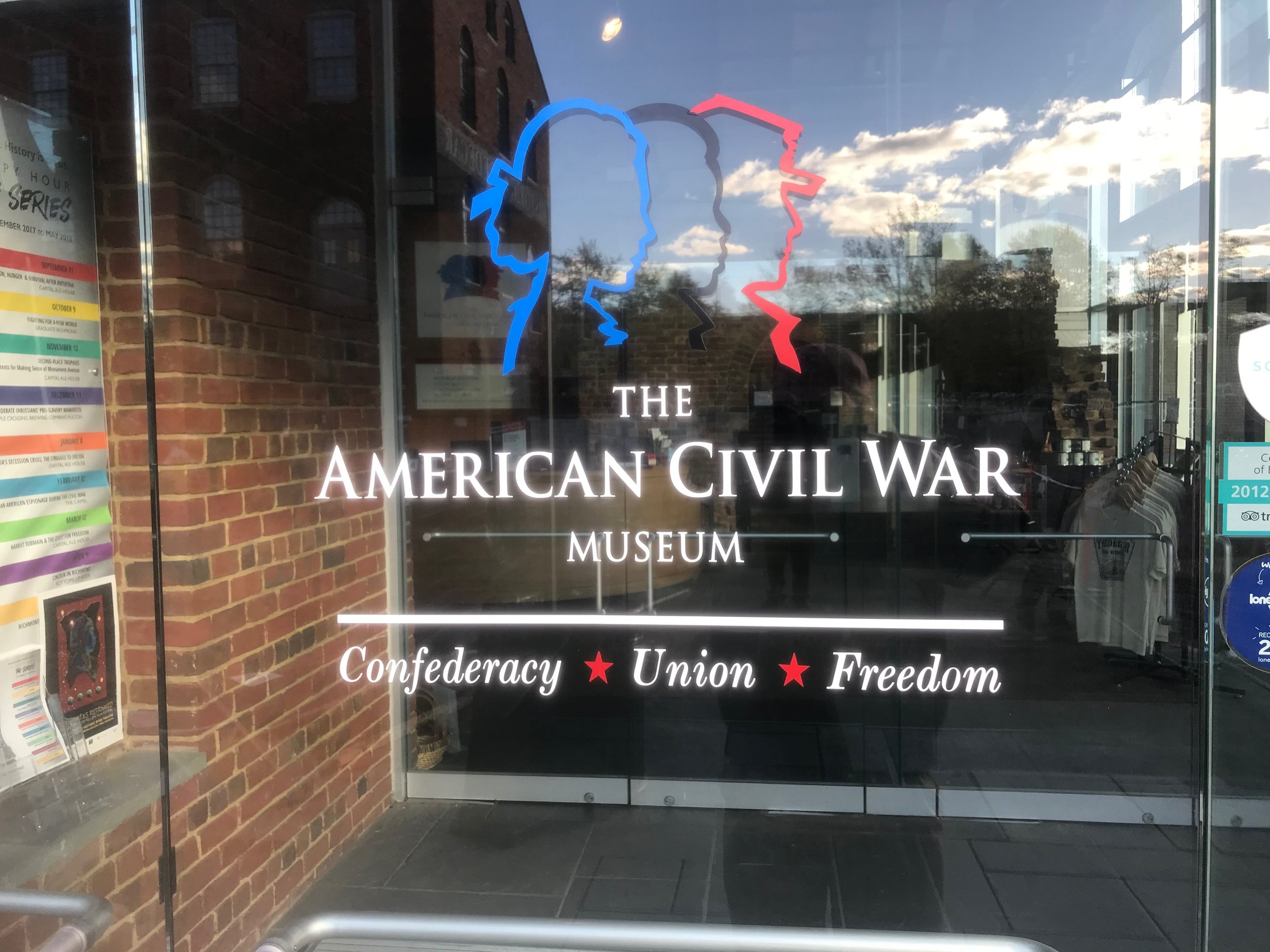 Richmond: A civil war museum now stresses the need for three perspectives: the North, the South, and the African-Americans.