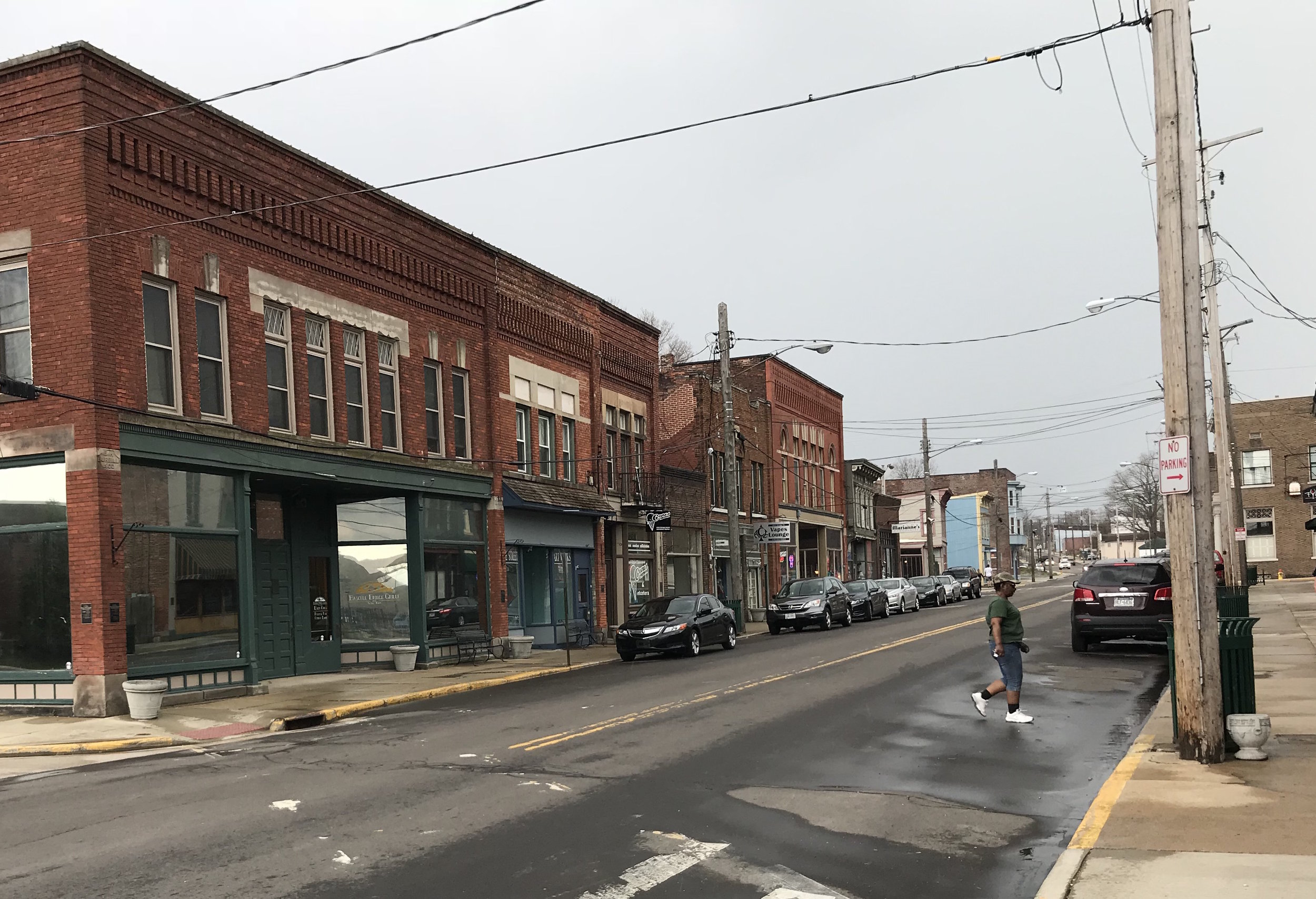 Ashtabula, Ohio: A few business struggle to survive the economic woes that have plagued northeast Ohio for years.