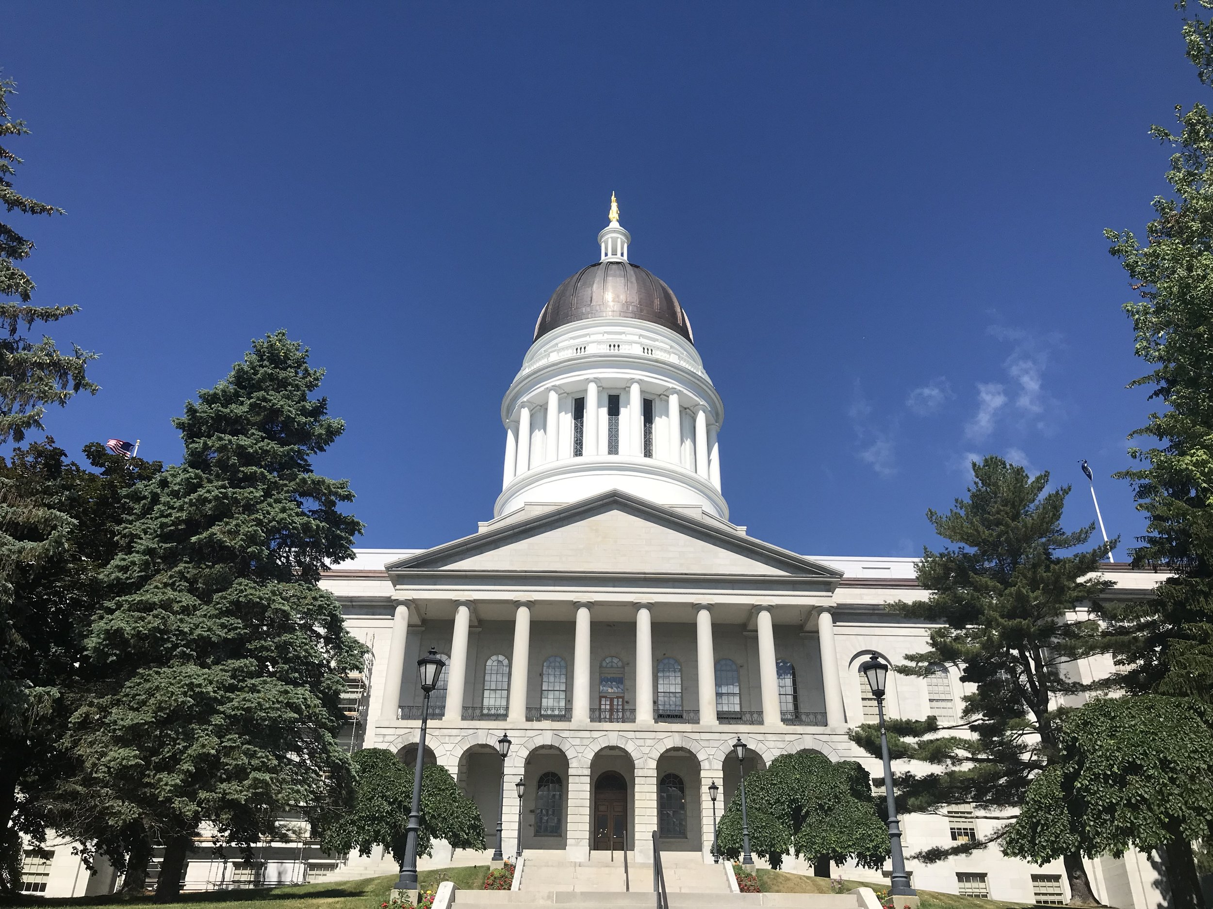 Maine State House in Augusta.