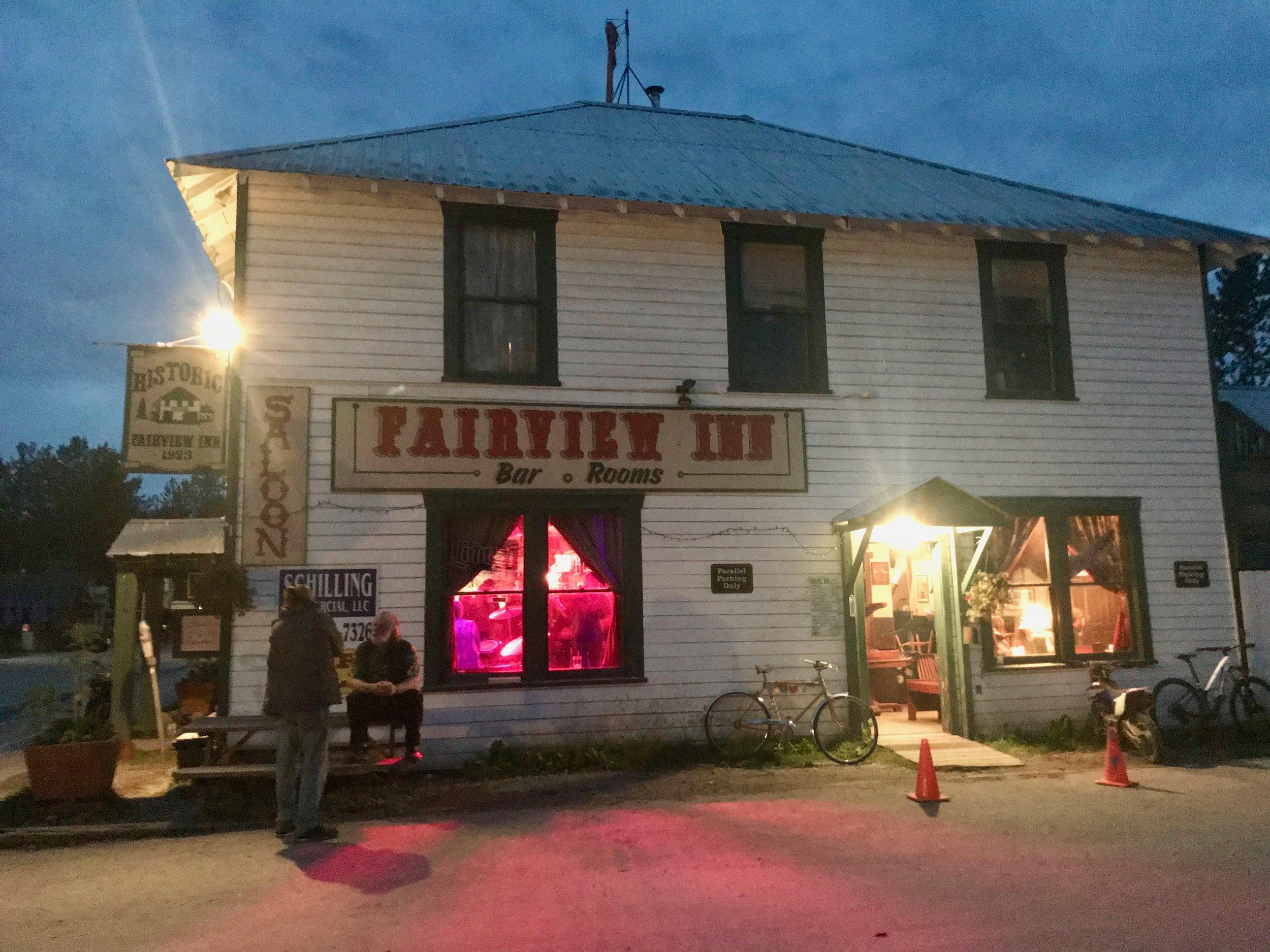 Fairview Inn in Talkeetna, Alaska, where President Warren Harding made one of his last visits.