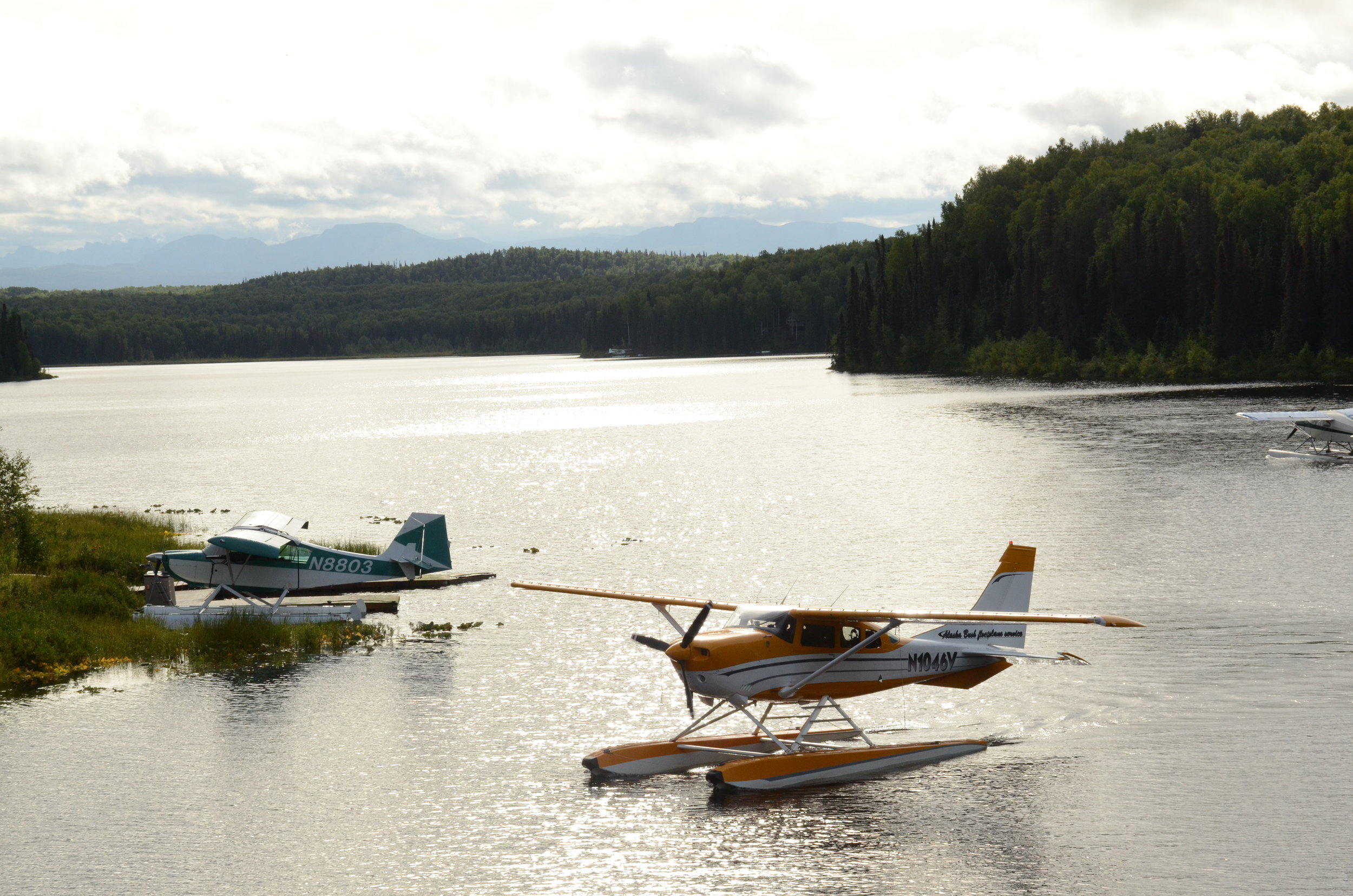 """How big is Alaska? There's a whole industry based on flying tourists to attractions you can't get to by car, or just to get a good look at the scenery. They call it """"flightseeing."""""""