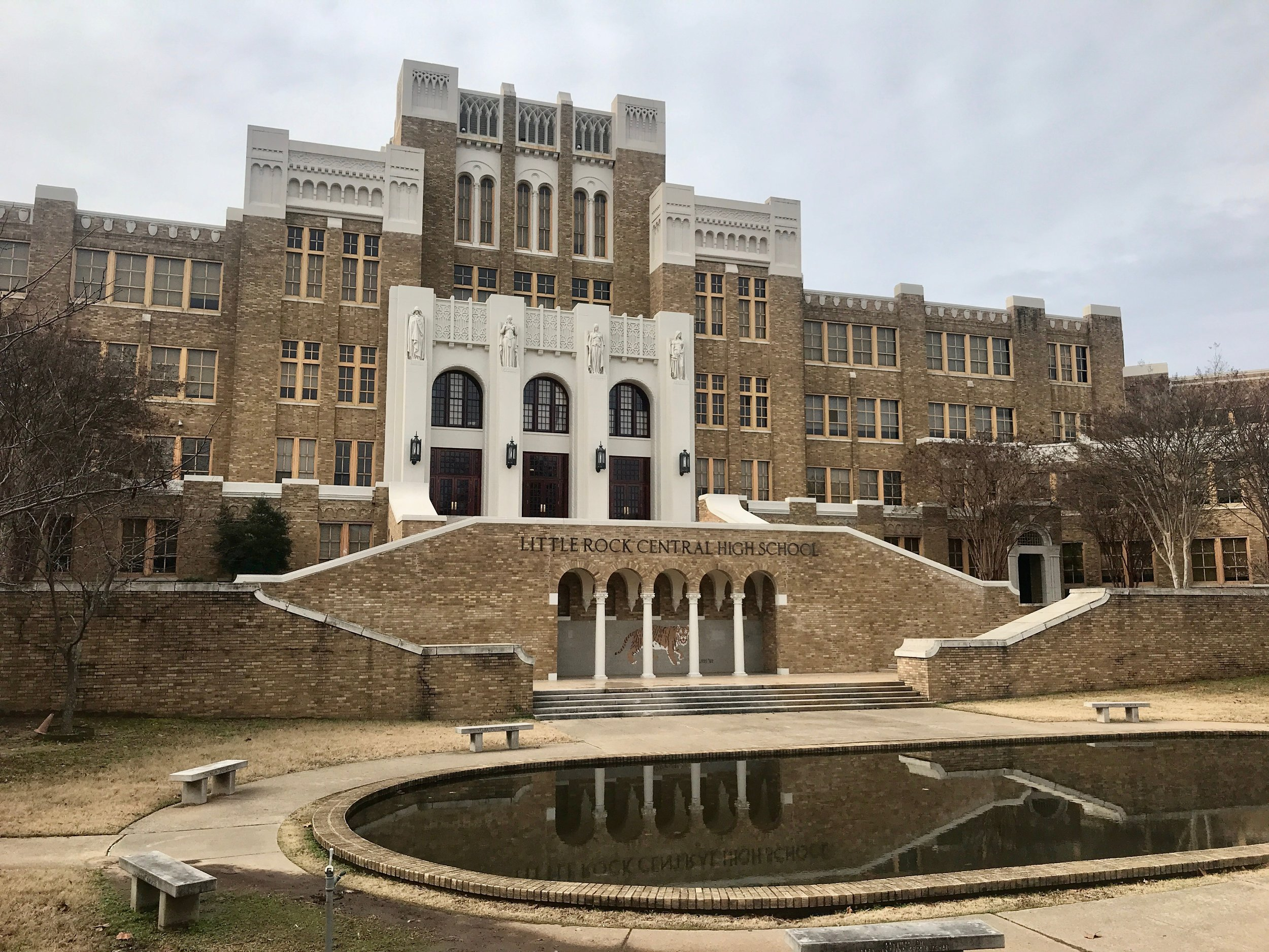 Central High School in Little Rock, Ark., site of an epic battle over school integration.