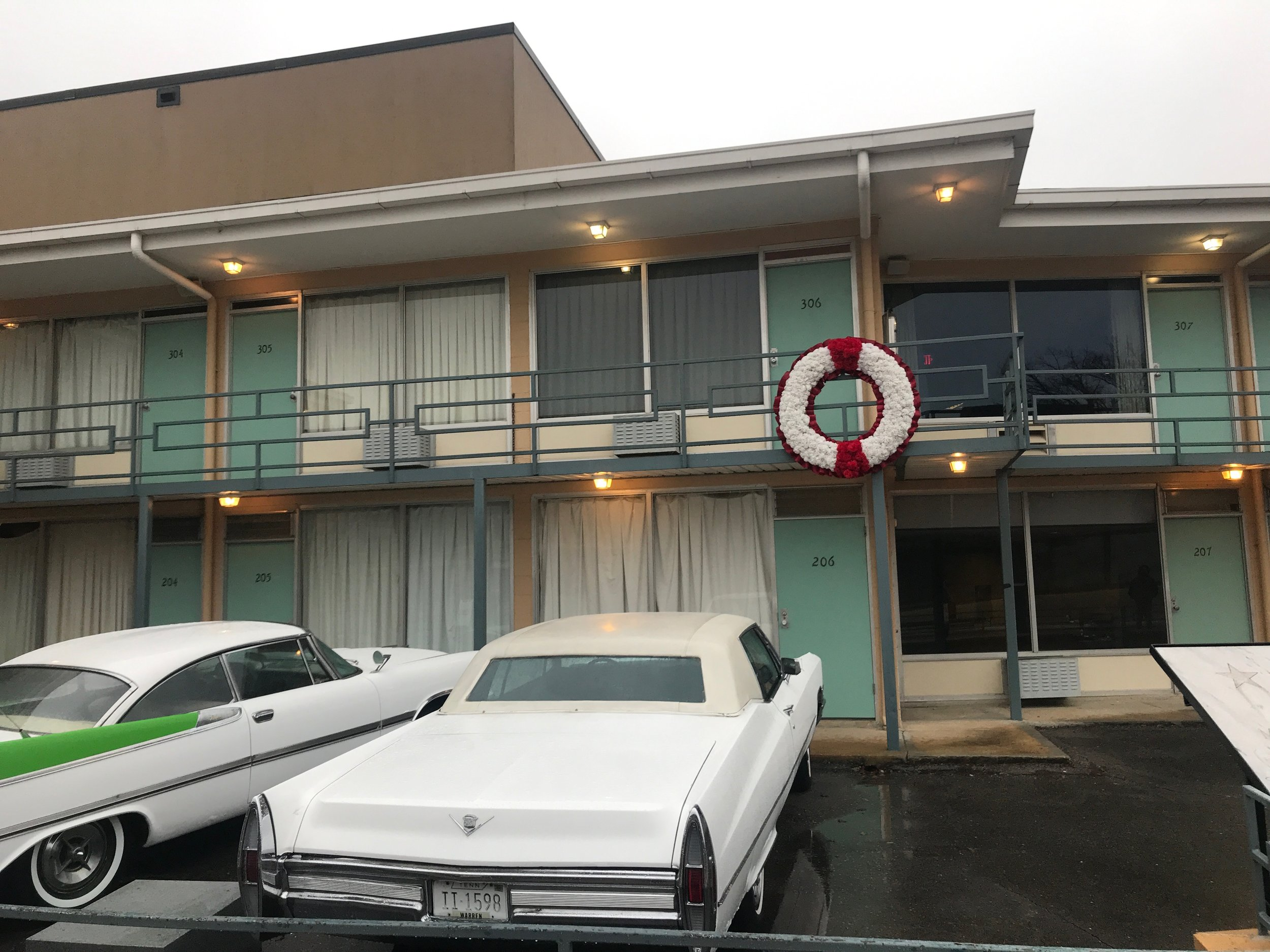 The Lorraine Motel in Memphis, site of the assassination of Dr. Martin Luther King Jr., is now part of the National Civil Rights Museum.