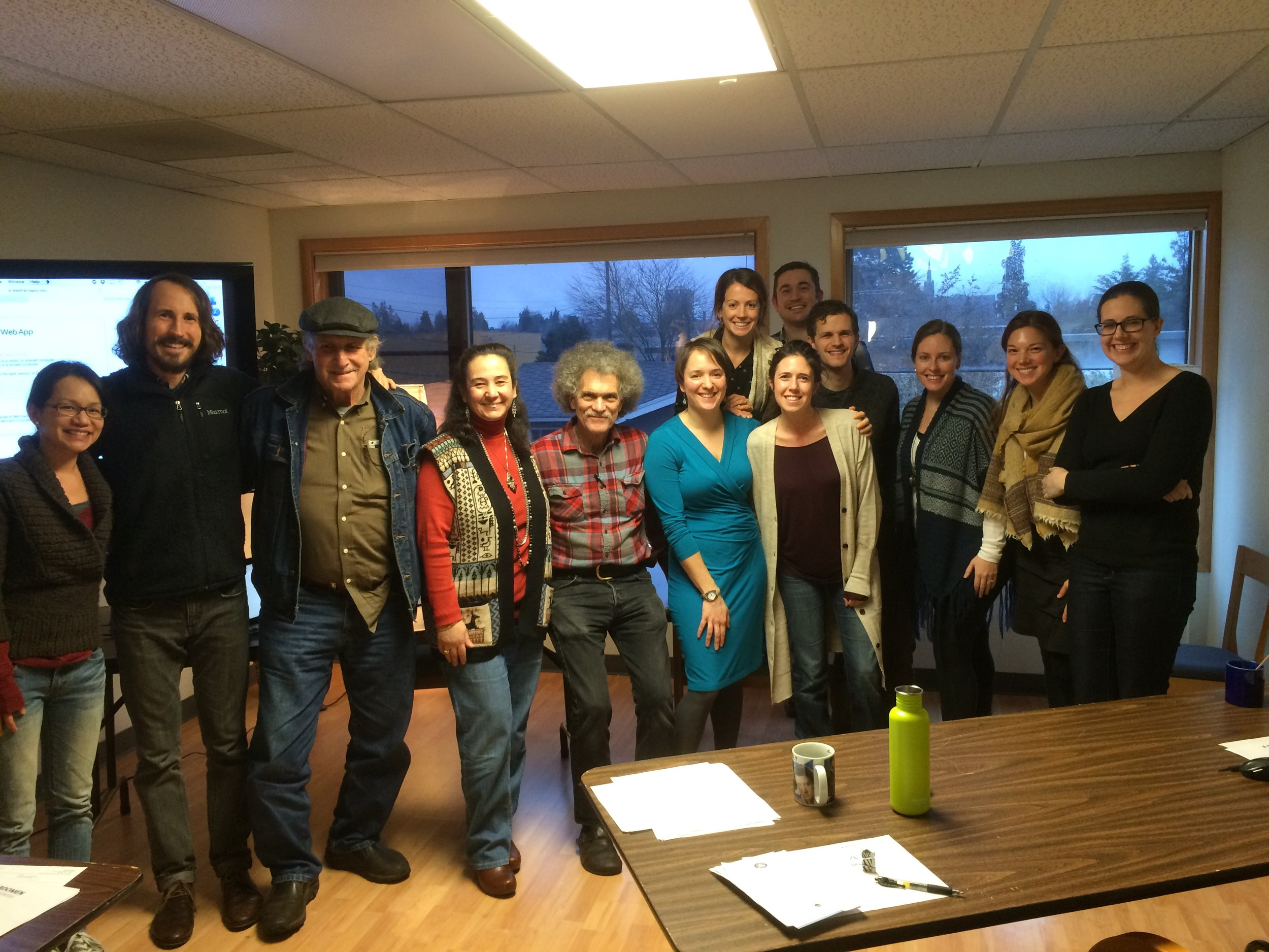 Practicum #4 - Group Photo - Seattle Healing Arts Center - January 2016