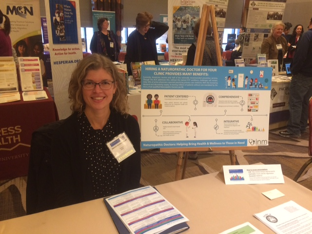 Hannah Gordon, ND, RN - NWRPCA Conference, February 2018, Seattle, WA
